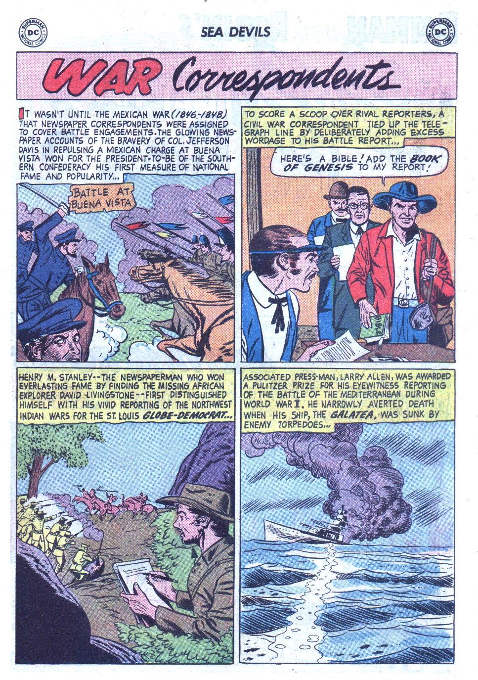 Read online Sea Devils comic -  Issue #6 - 24