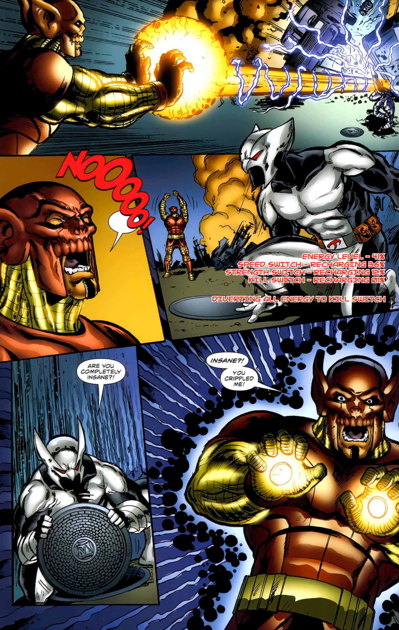 Read online ShadowHawk (2010) comic -  Issue #1 - 18