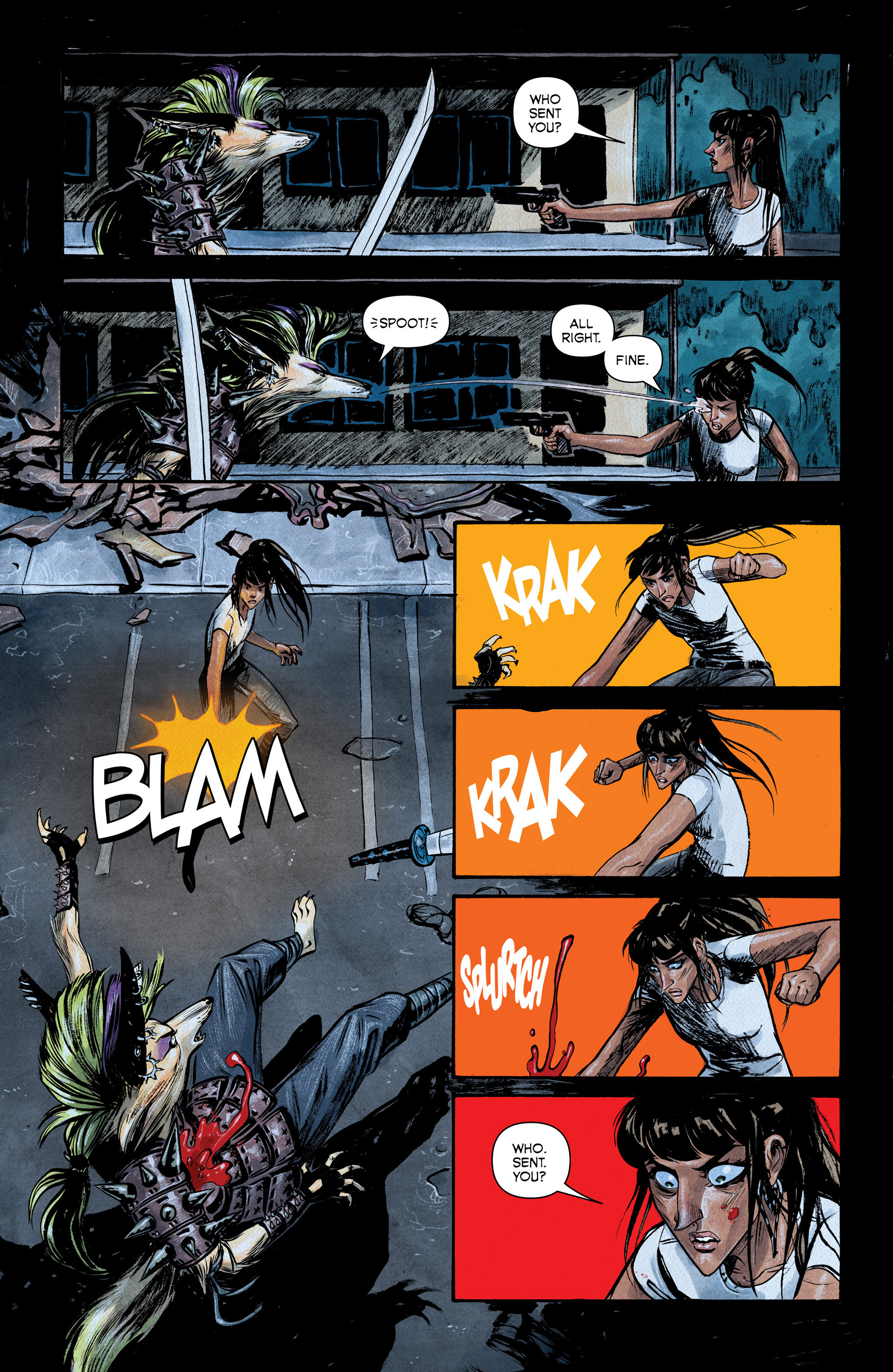 Read online Shutter comic -  Issue #6 - 16