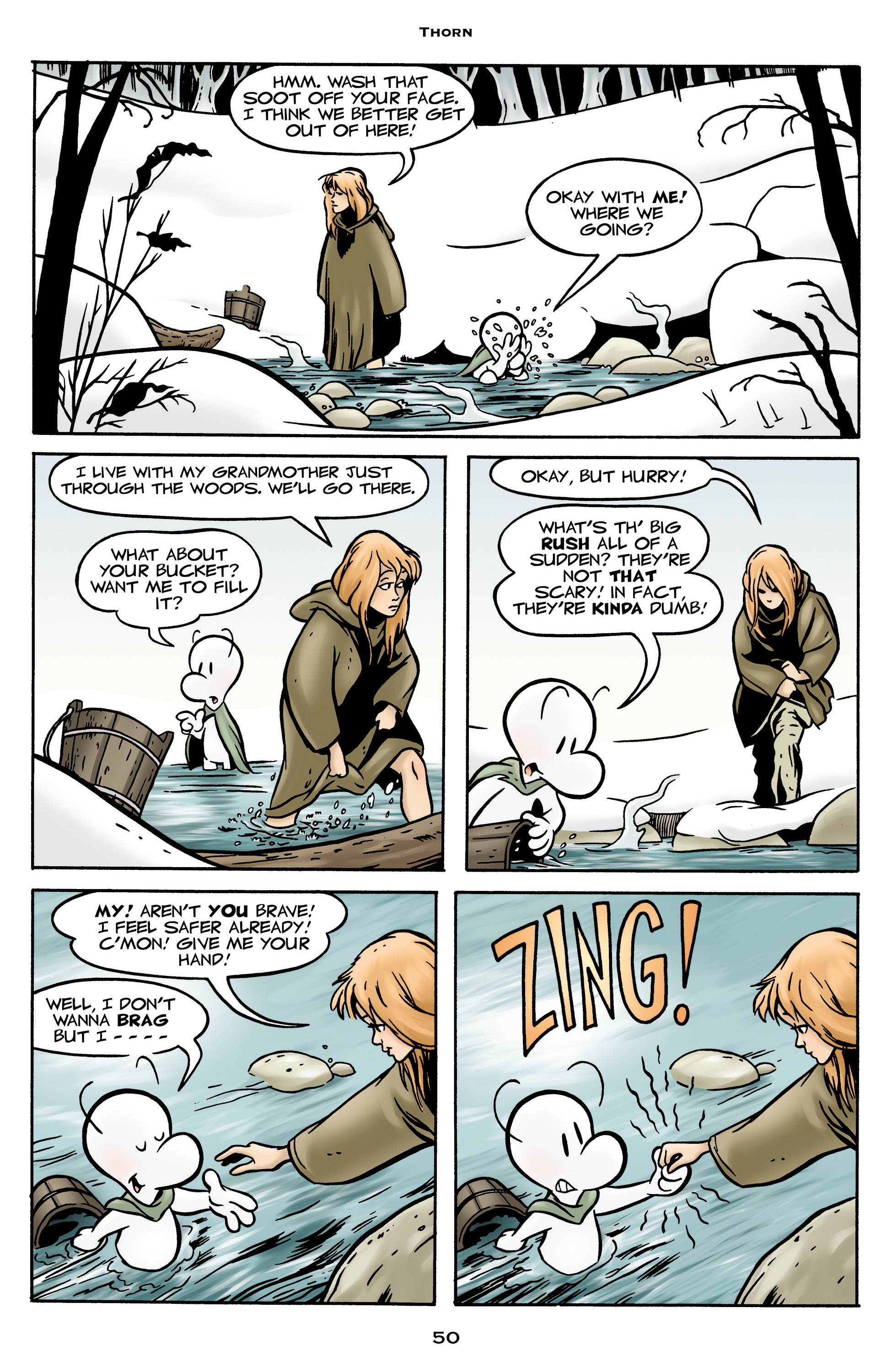 Read online Bone: Out From Boneville comic -  Issue # TPB - 50