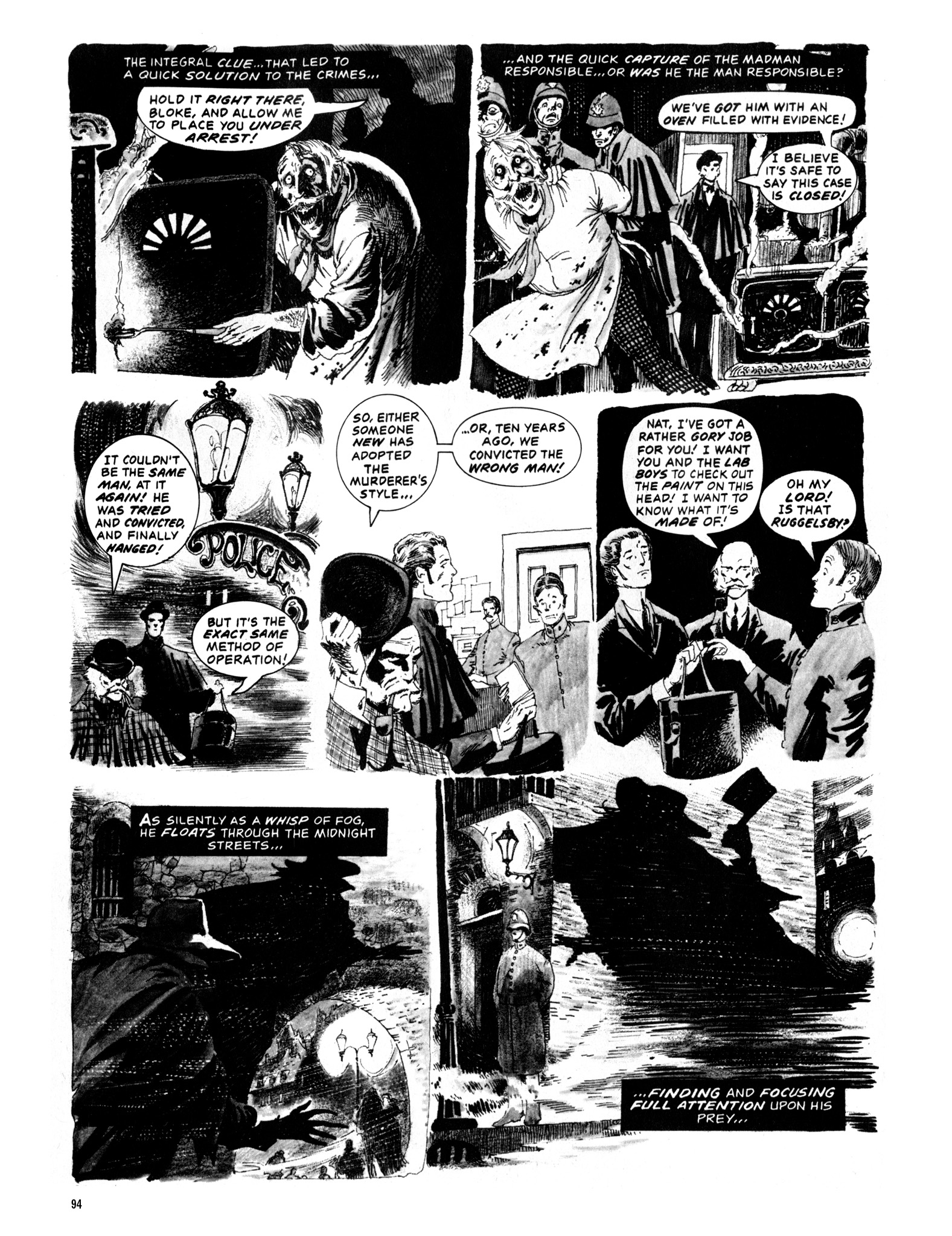 Read online Eerie Archives comic -  Issue # TPB 12 - 95