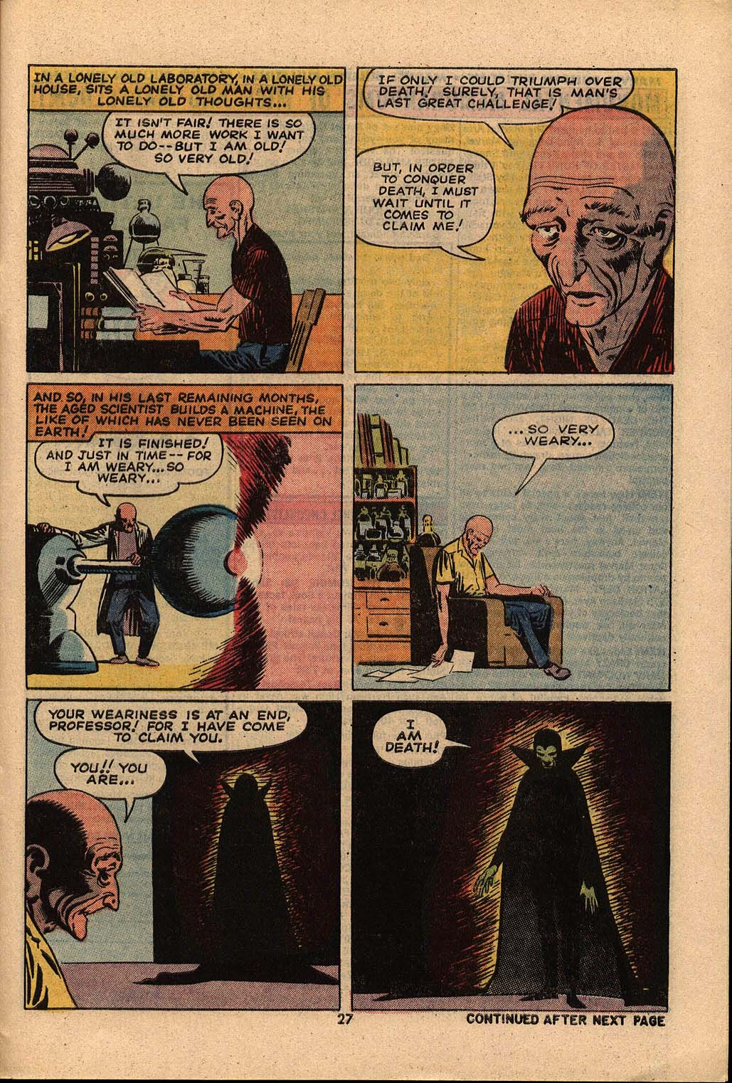 Read online Astonishing Tales (1970) comic -  Issue #21 - 18