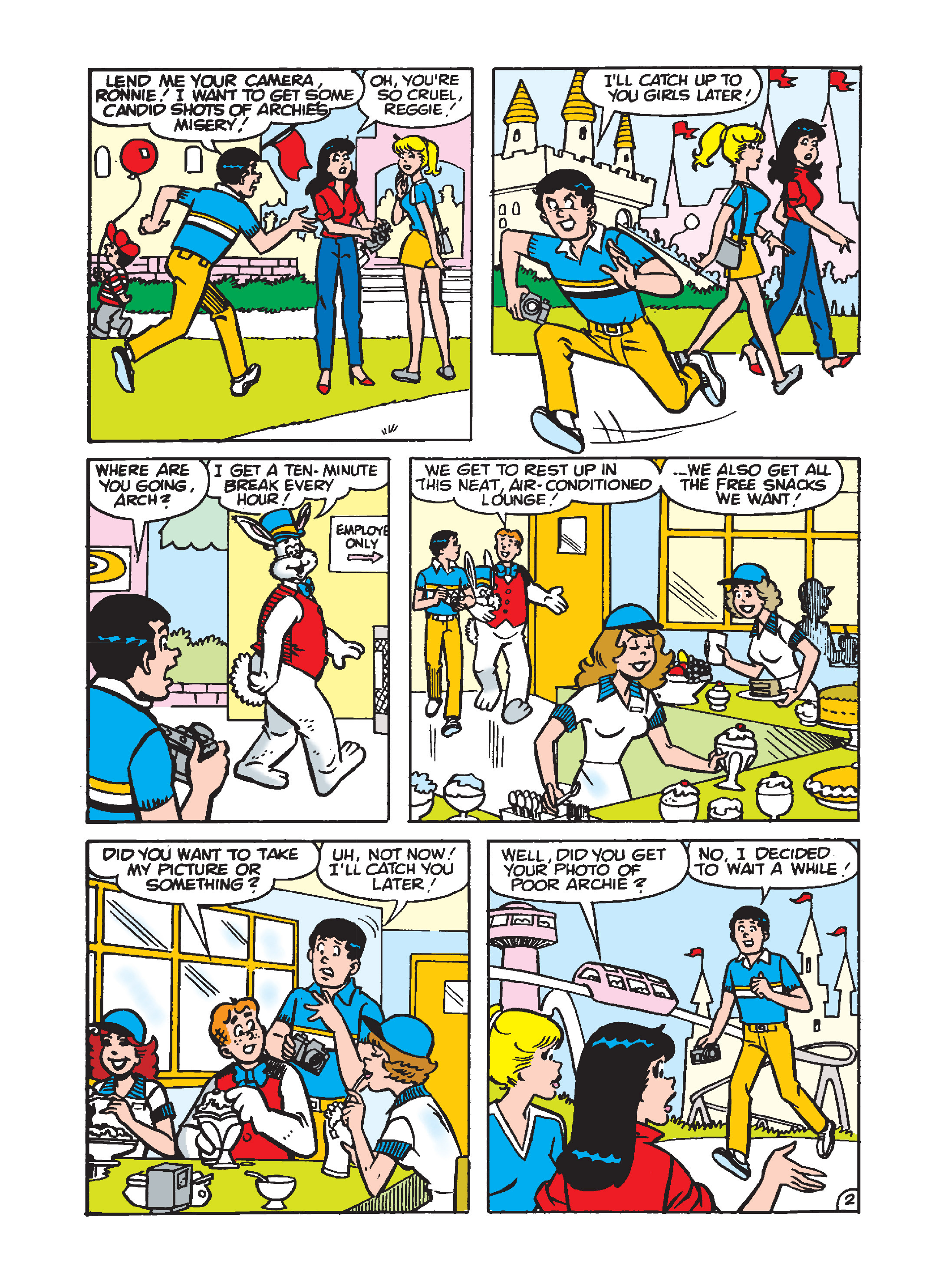 Read online Archie's Funhouse Double Digest comic -  Issue #7 - 141