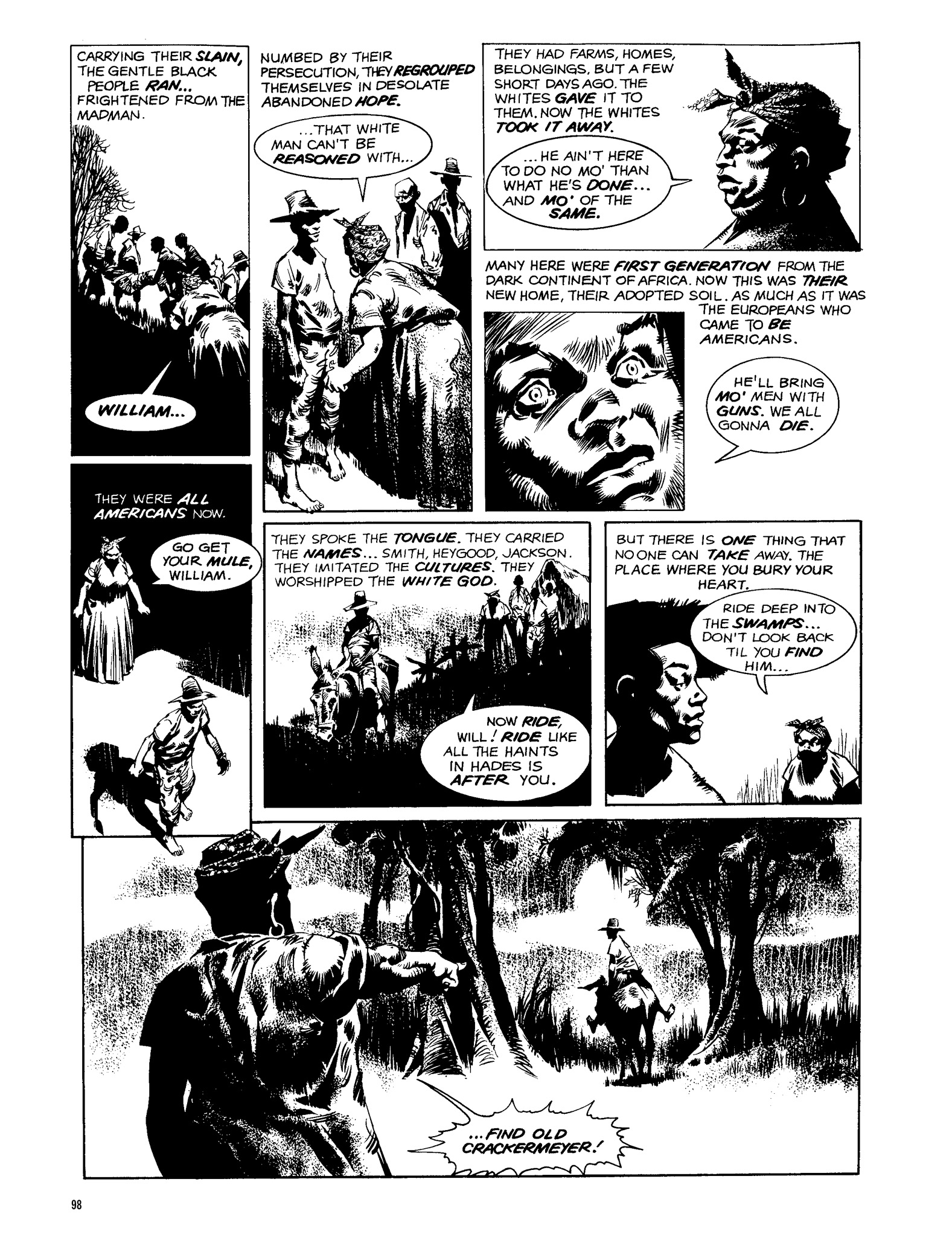 Read online Eerie Archives comic -  Issue # TPB 13 - 99