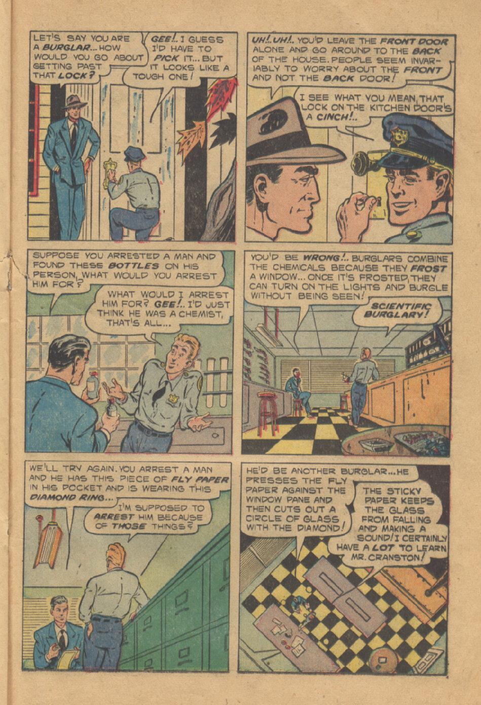 Read online Shadow Comics comic -  Issue #95 - 29