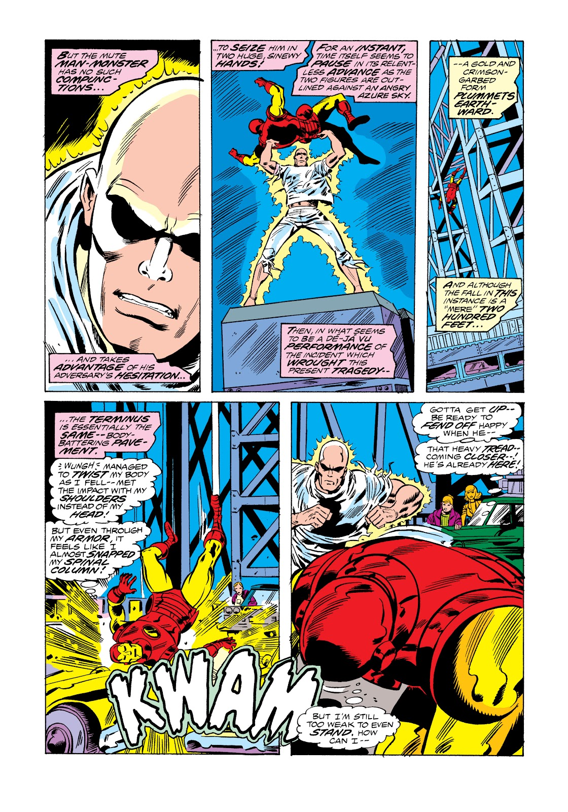Read online Marvel Masterworks: The Invincible Iron Man comic -  Issue # TPB 11 (Part 1) - 64