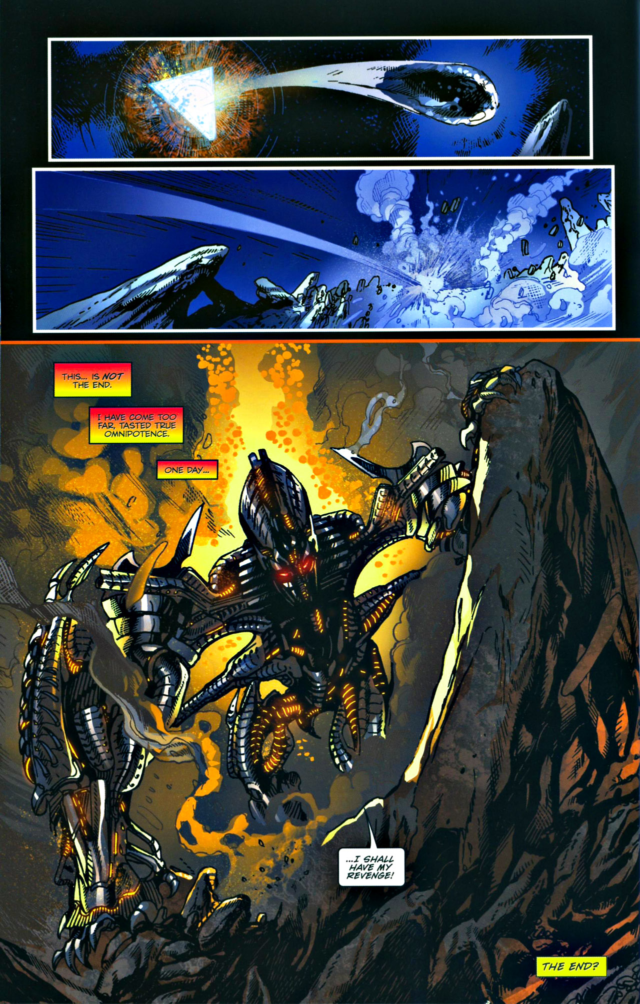 Read online Transformers: Tales of The Fallen comic -  Issue #4 - 23