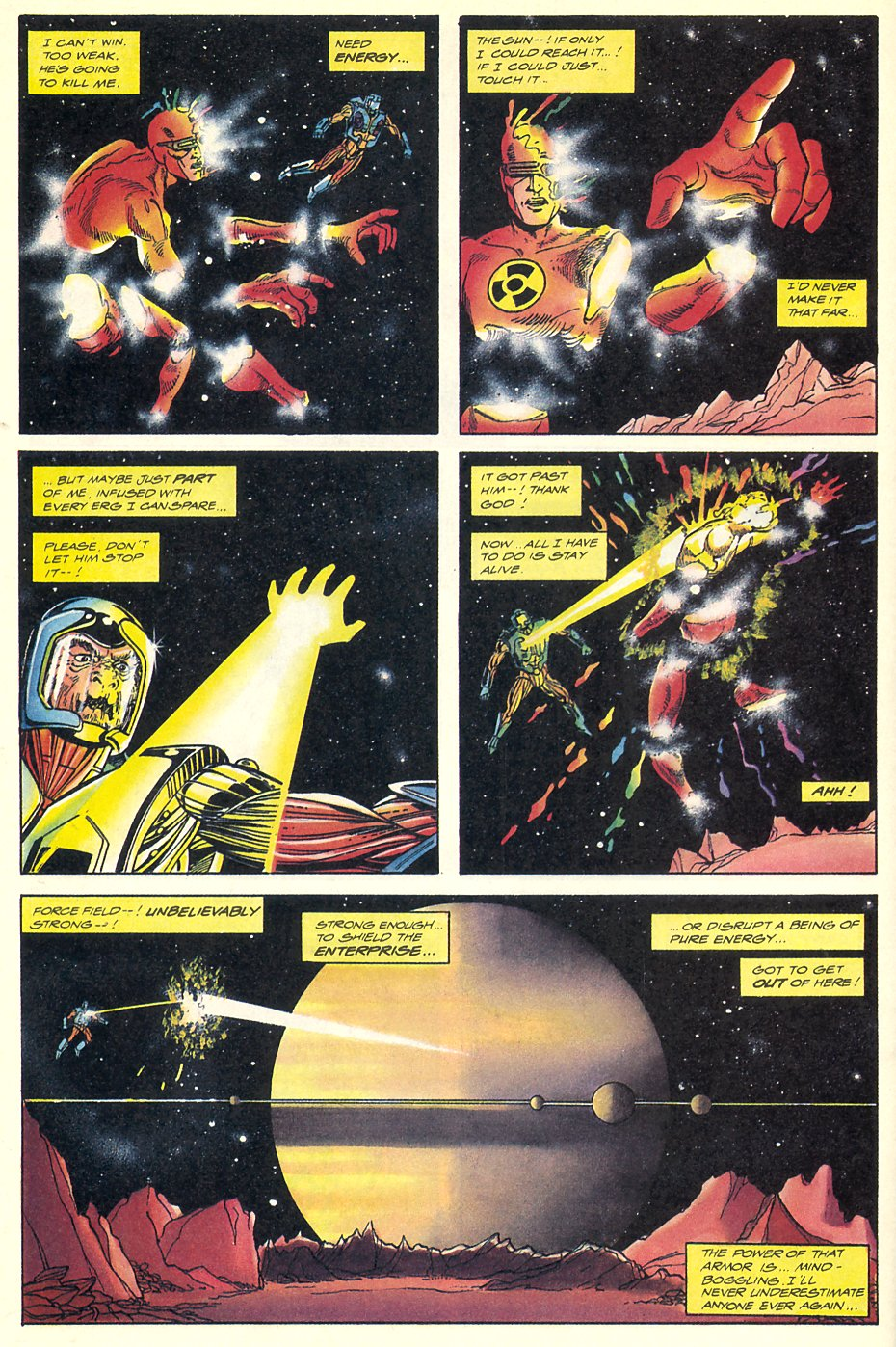 Read online Solar, Man of the Atom comic -  Issue #7 - 16