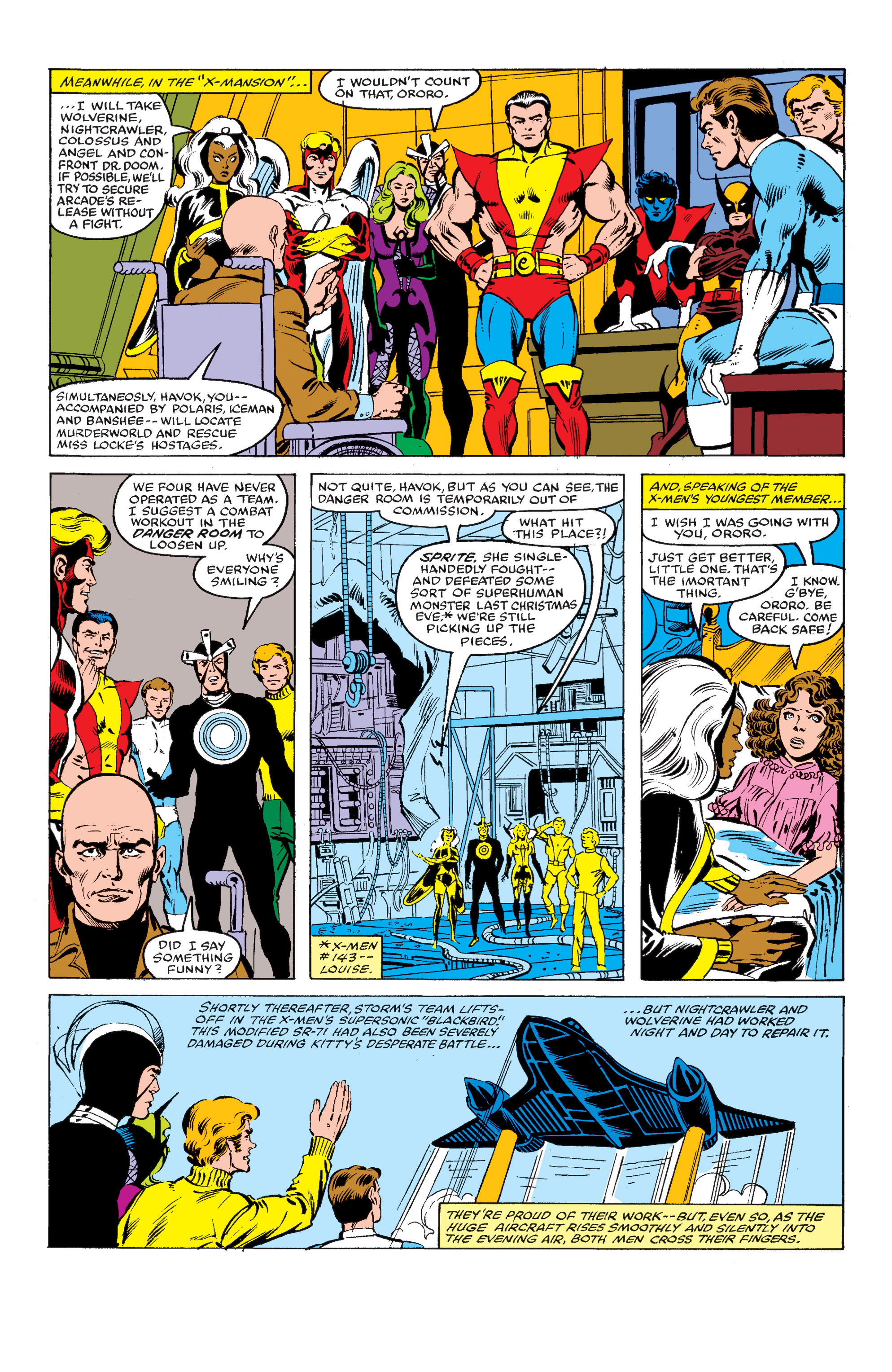 Read online Uncanny X-Men (1963) comic -  Issue #145 - 14