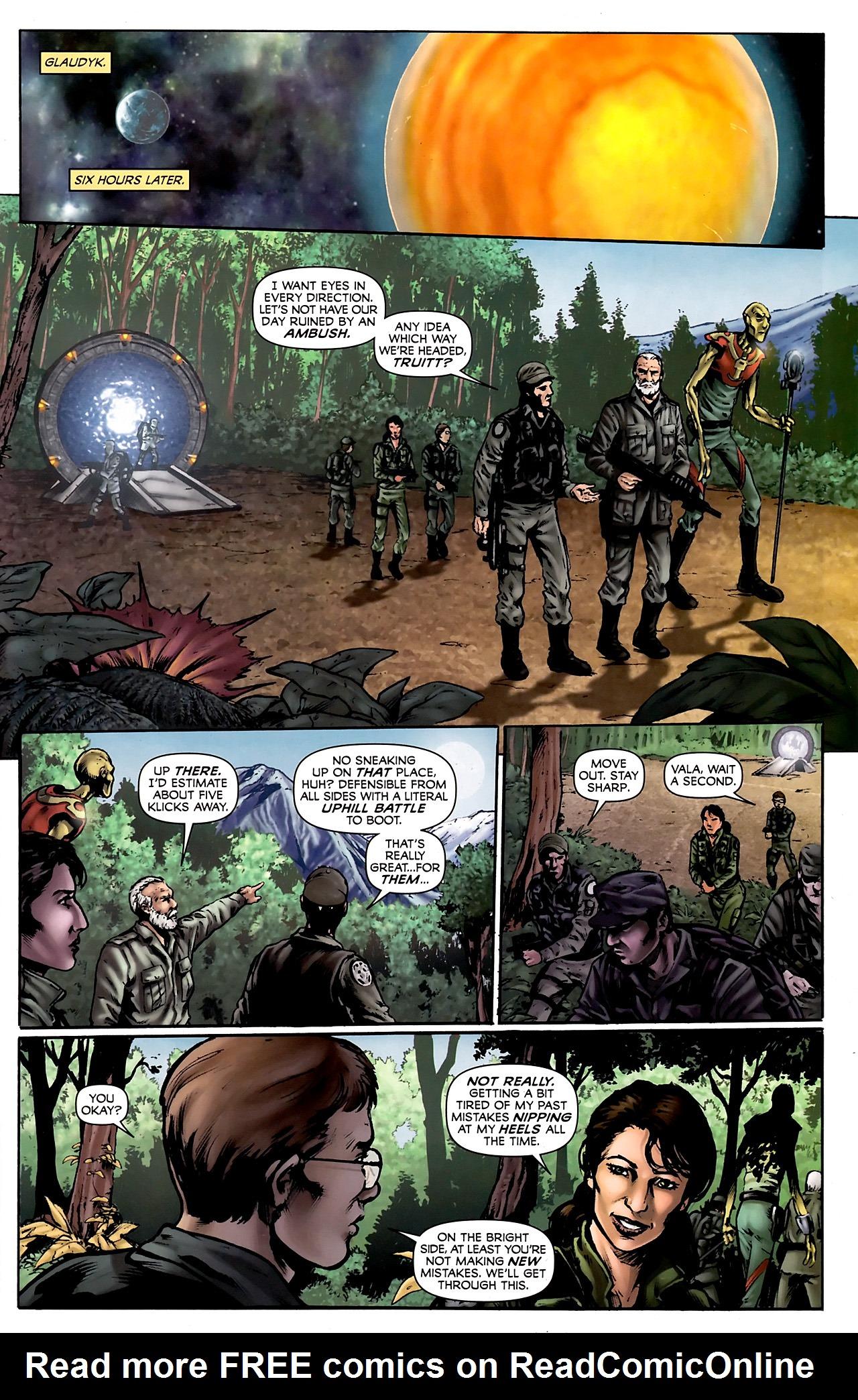Read online Stargate Vala Mal Doran comic -  Issue #3 - 23