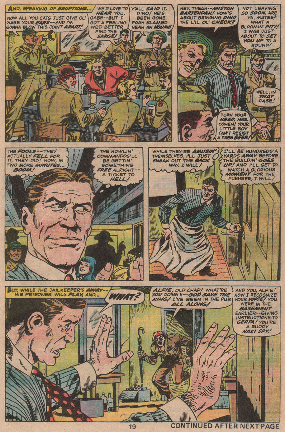 Read online Sgt. Fury comic -  Issue #142 - 21