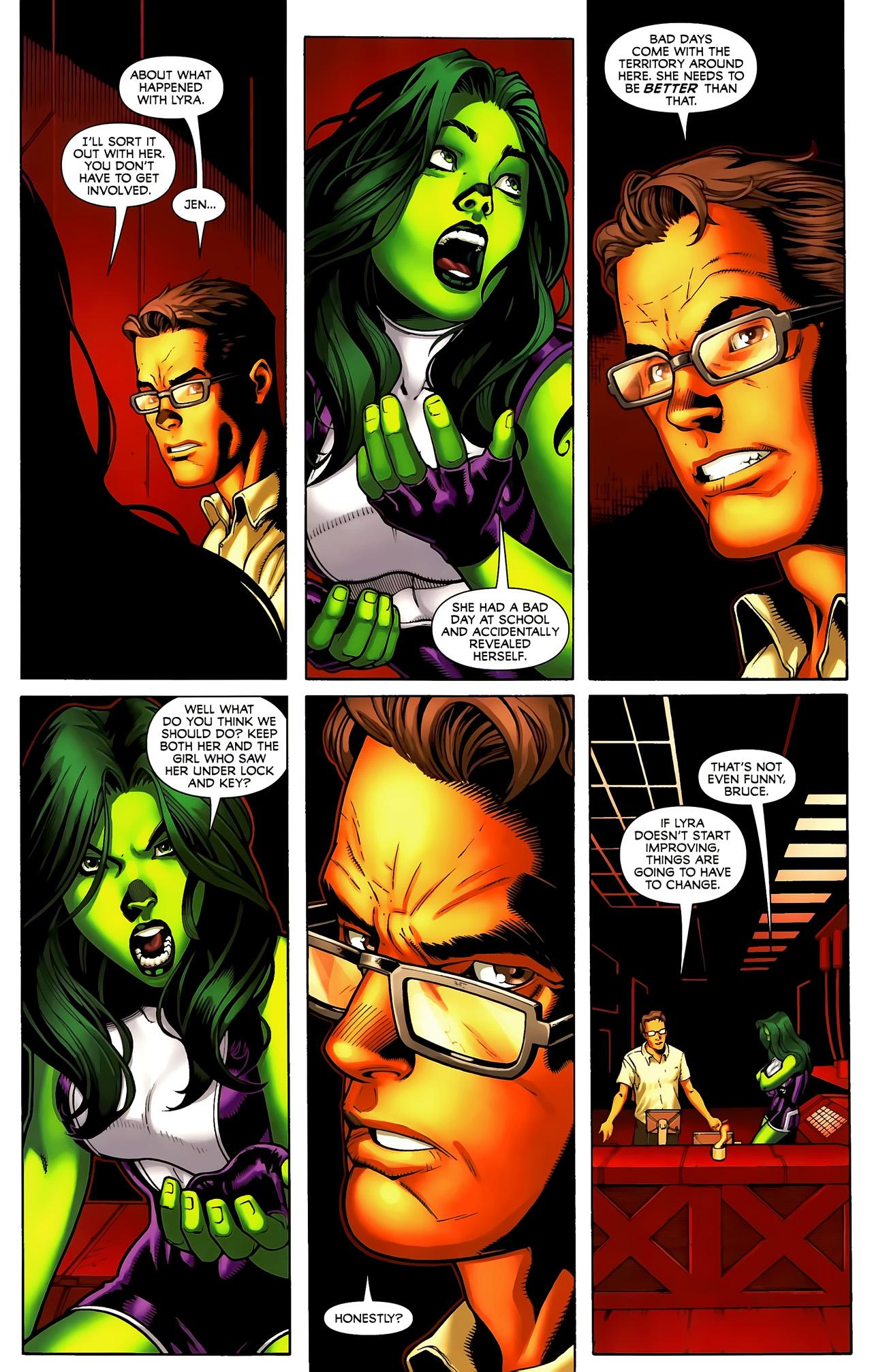 Read online She-Hulks comic -  Issue #3 - 10