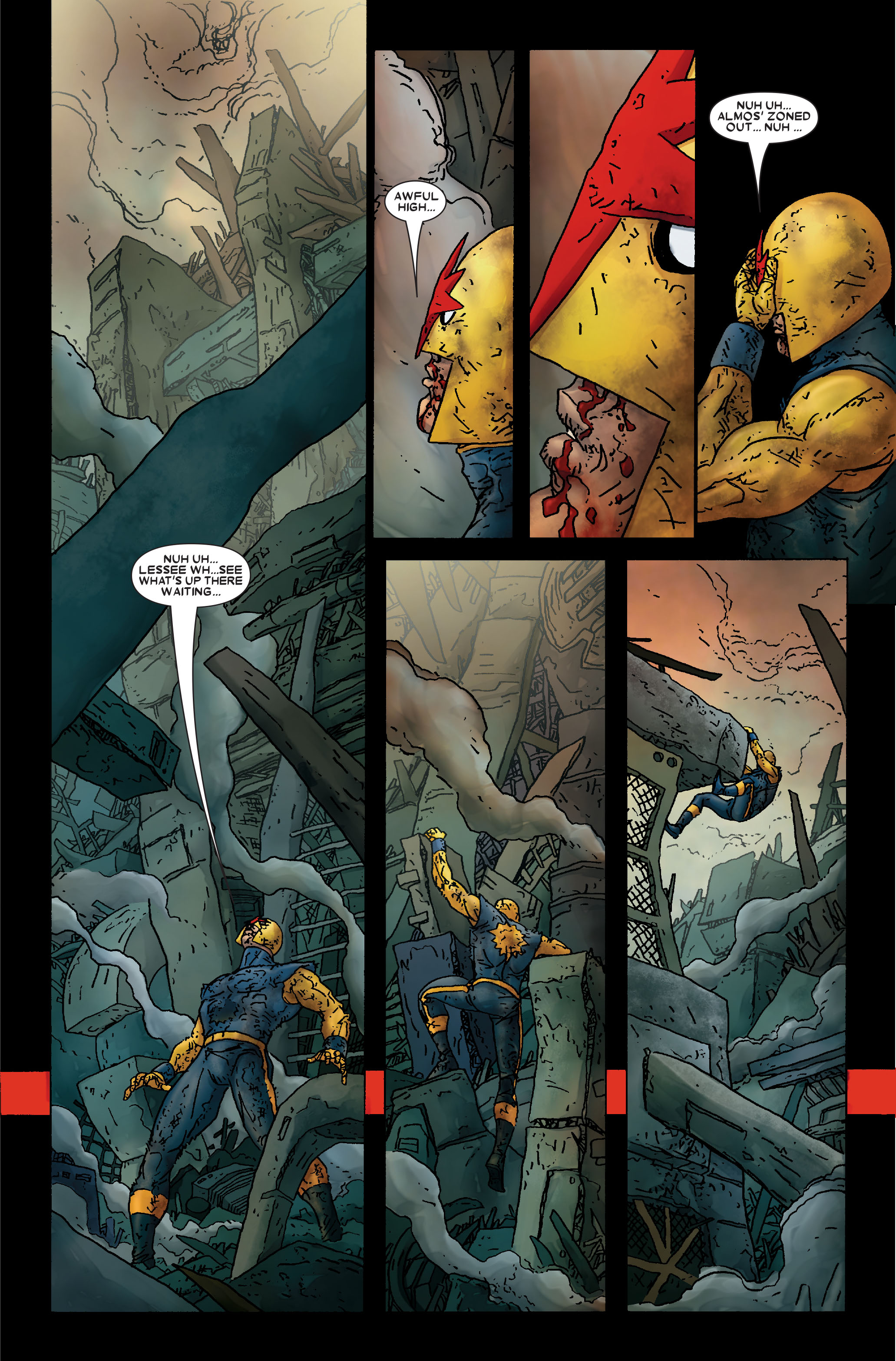 Read online Annihilation: Prologue comic -  Issue #Annihilation: Prologue Full - 32