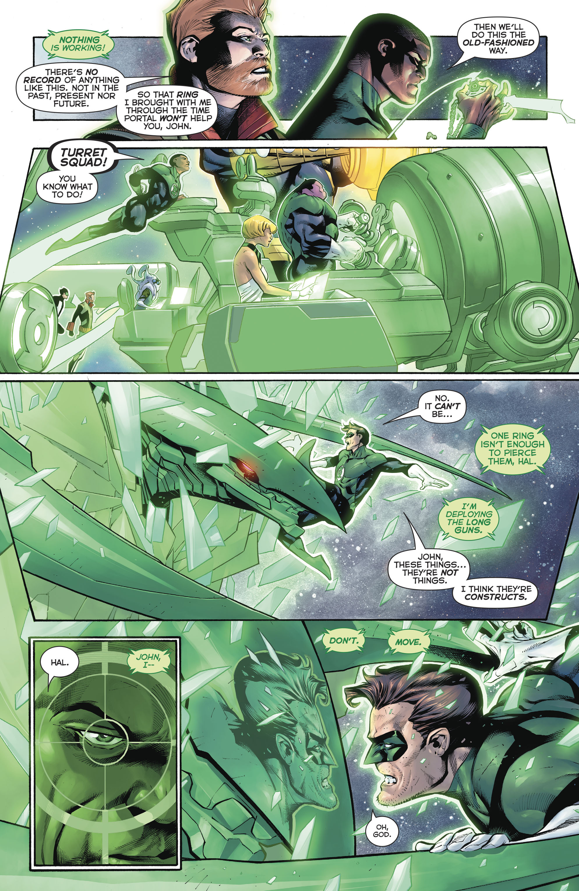 Read online Hal Jordan And The Green Lantern Corps comic -  Issue #20 - 7