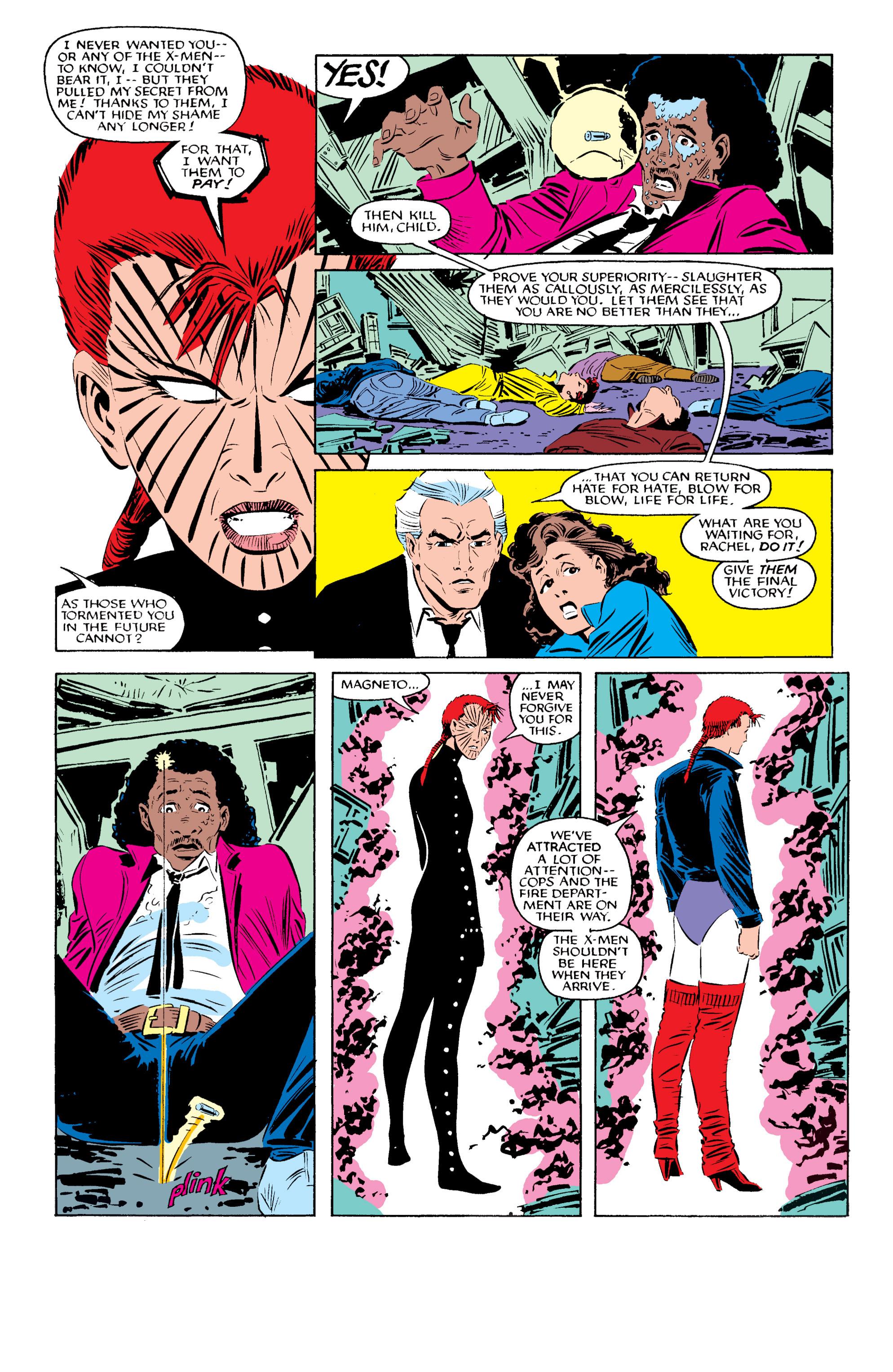 Read online Uncanny X-Men (1963) comic -  Issue #196 - 22