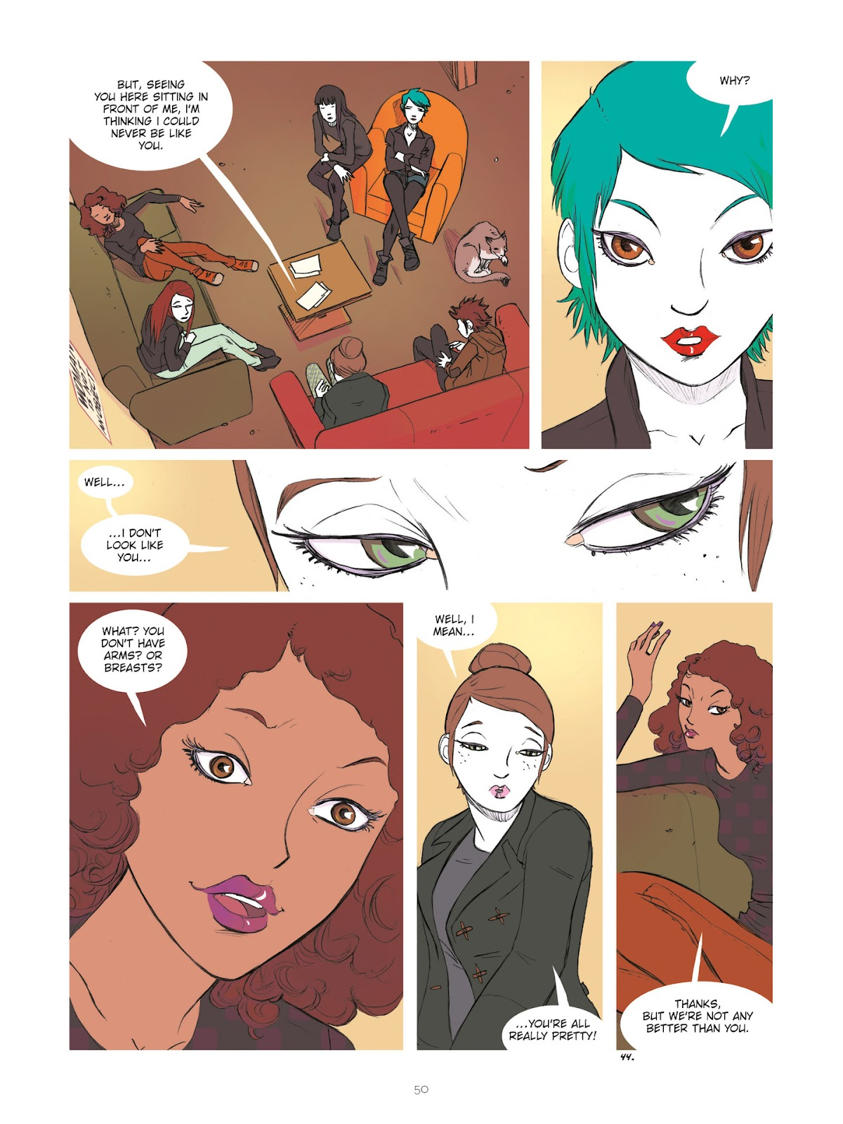 Read online Diary of A Femen comic -  Issue # TPB - 52