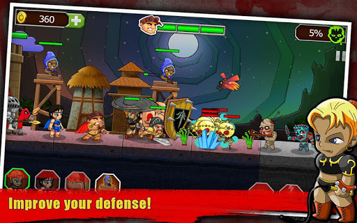 Game Chiến Thuật Legend vs Zombies