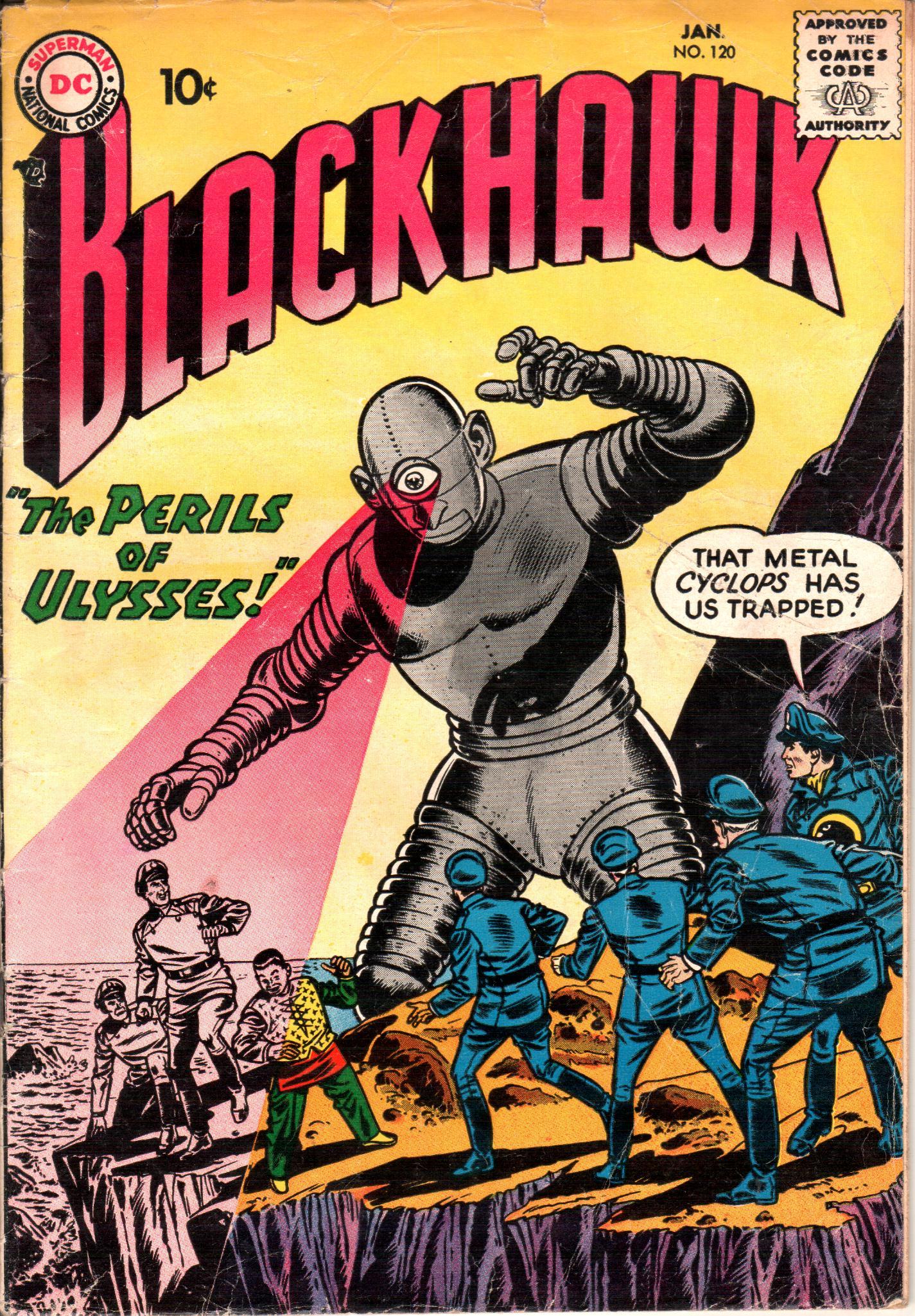 Blackhawk (1957) 120 Page 1