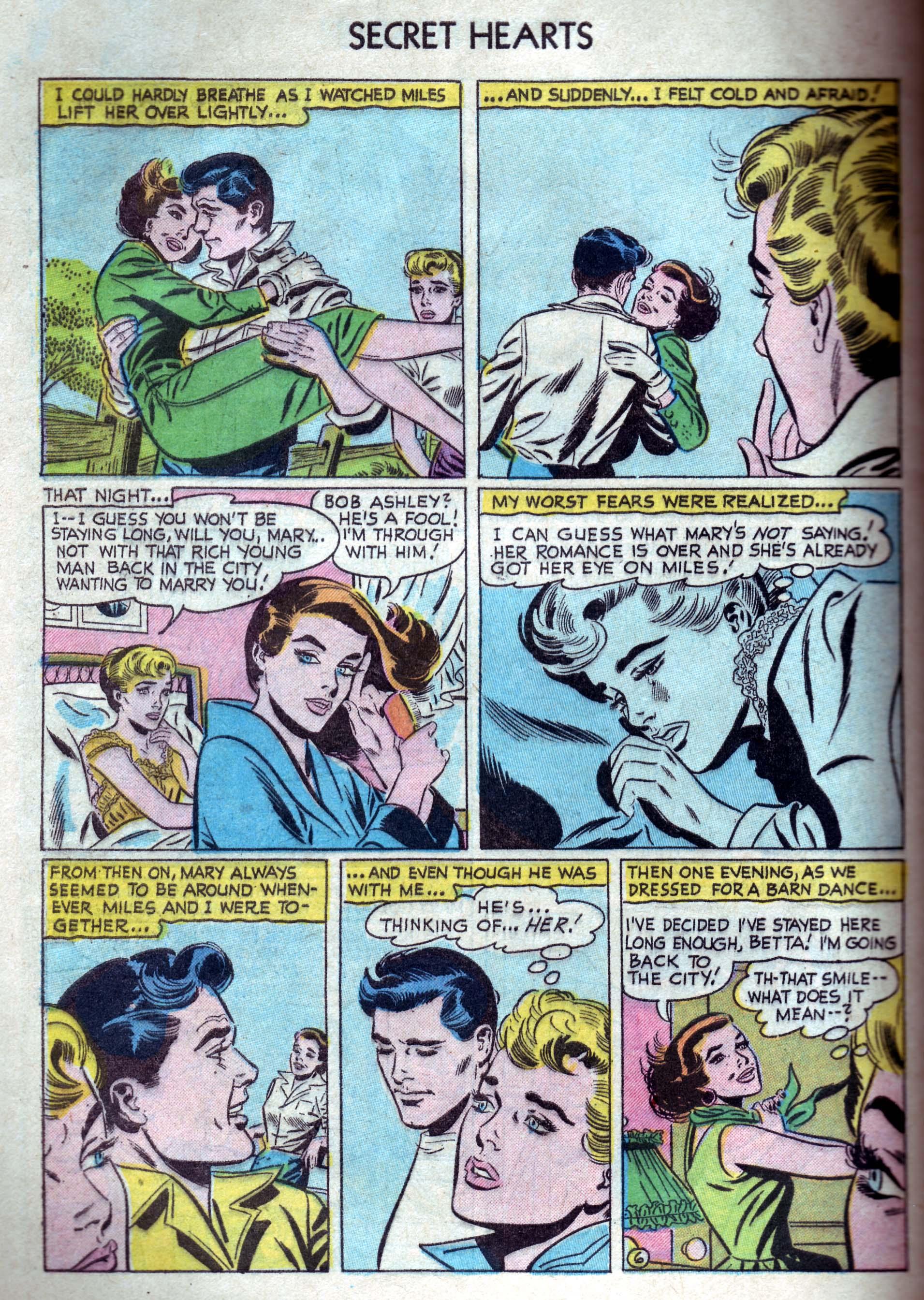 Read online Secret Hearts comic -  Issue #33 - 32