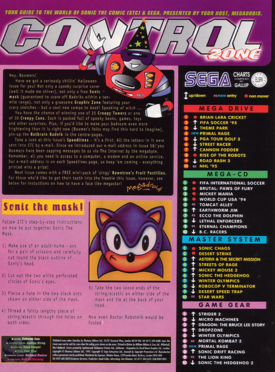 Read online Sonic the Comic comic -  Issue #64 - 2