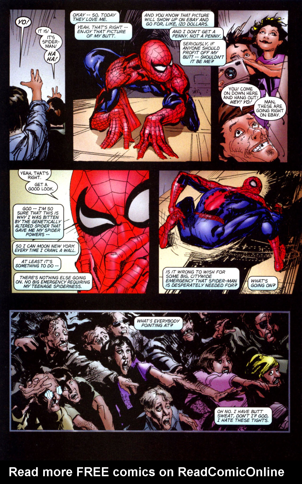 Read online Ultimate Marvel Team-Up comic -  Issue #6 - 32