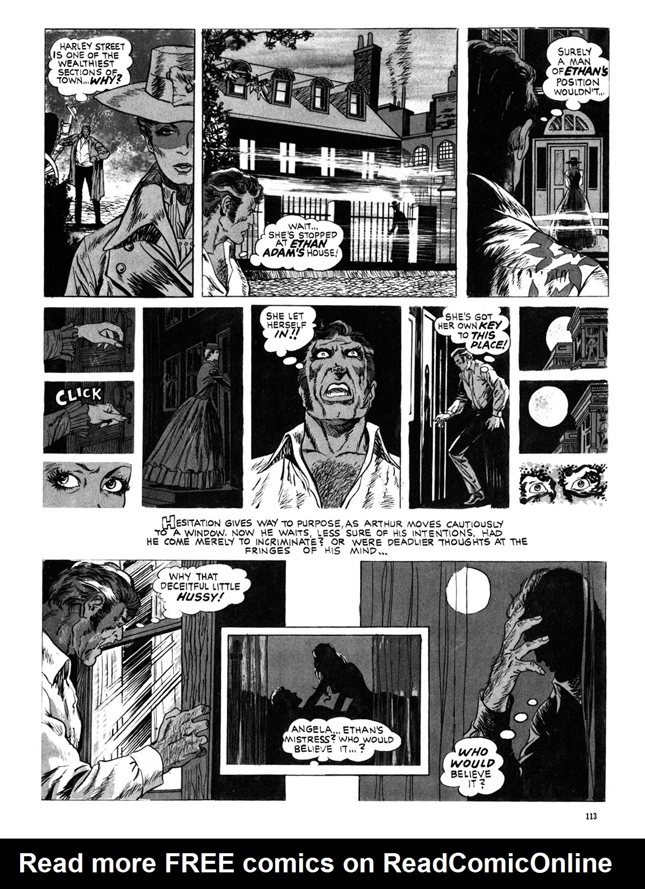 Read online Eerie Archives comic -  Issue # TPB 10 - 114