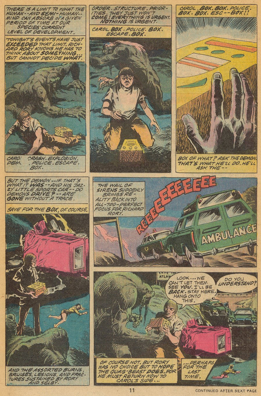 Man-Thing (1974) issue 20 - Page 8