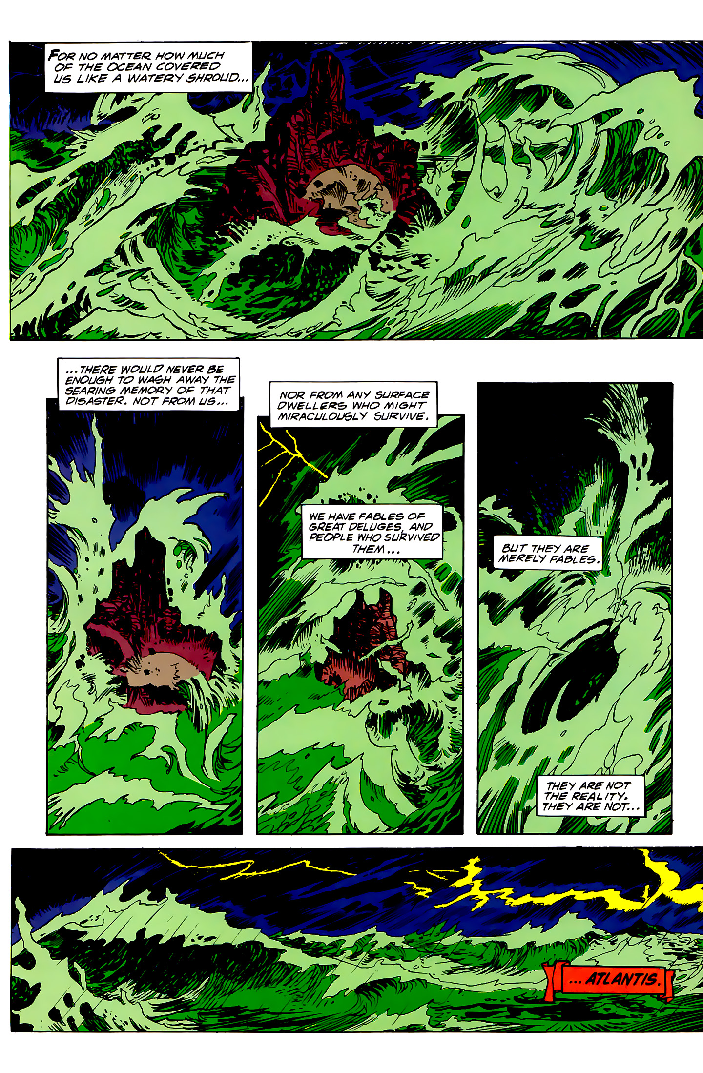 Read online Atlantis Chronicles comic -  Issue #1 - 43