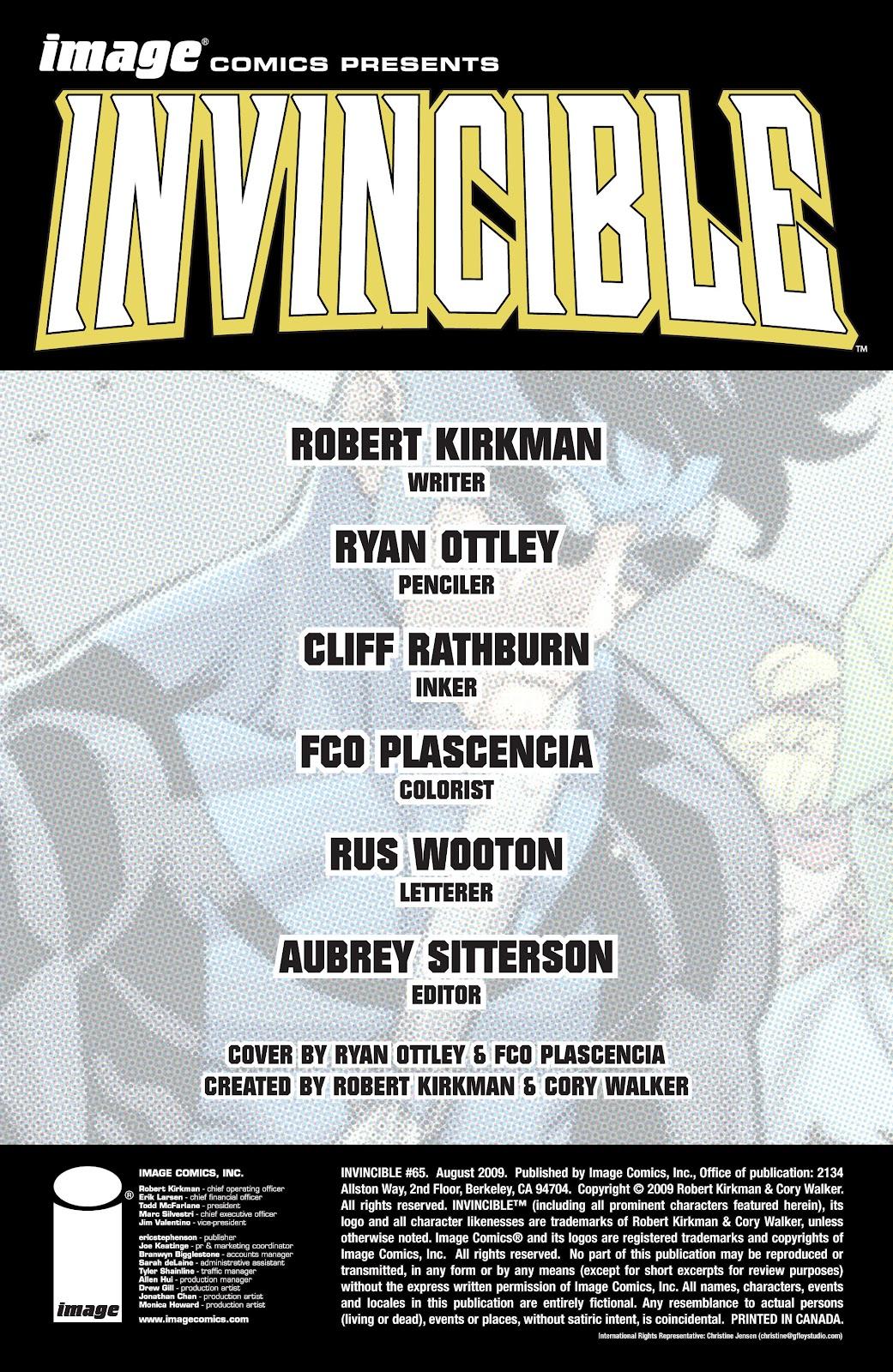 Invincible (2003) 65 Page 2