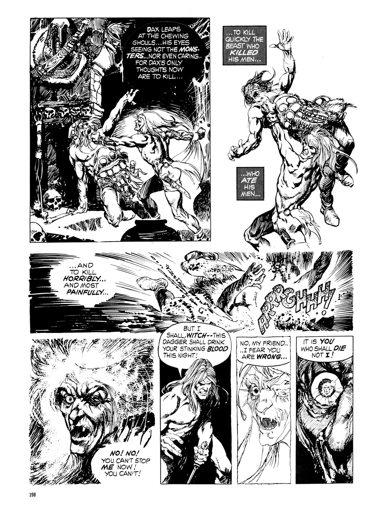 Read online Eerie Archives comic -  Issue # TPB 9 - 199