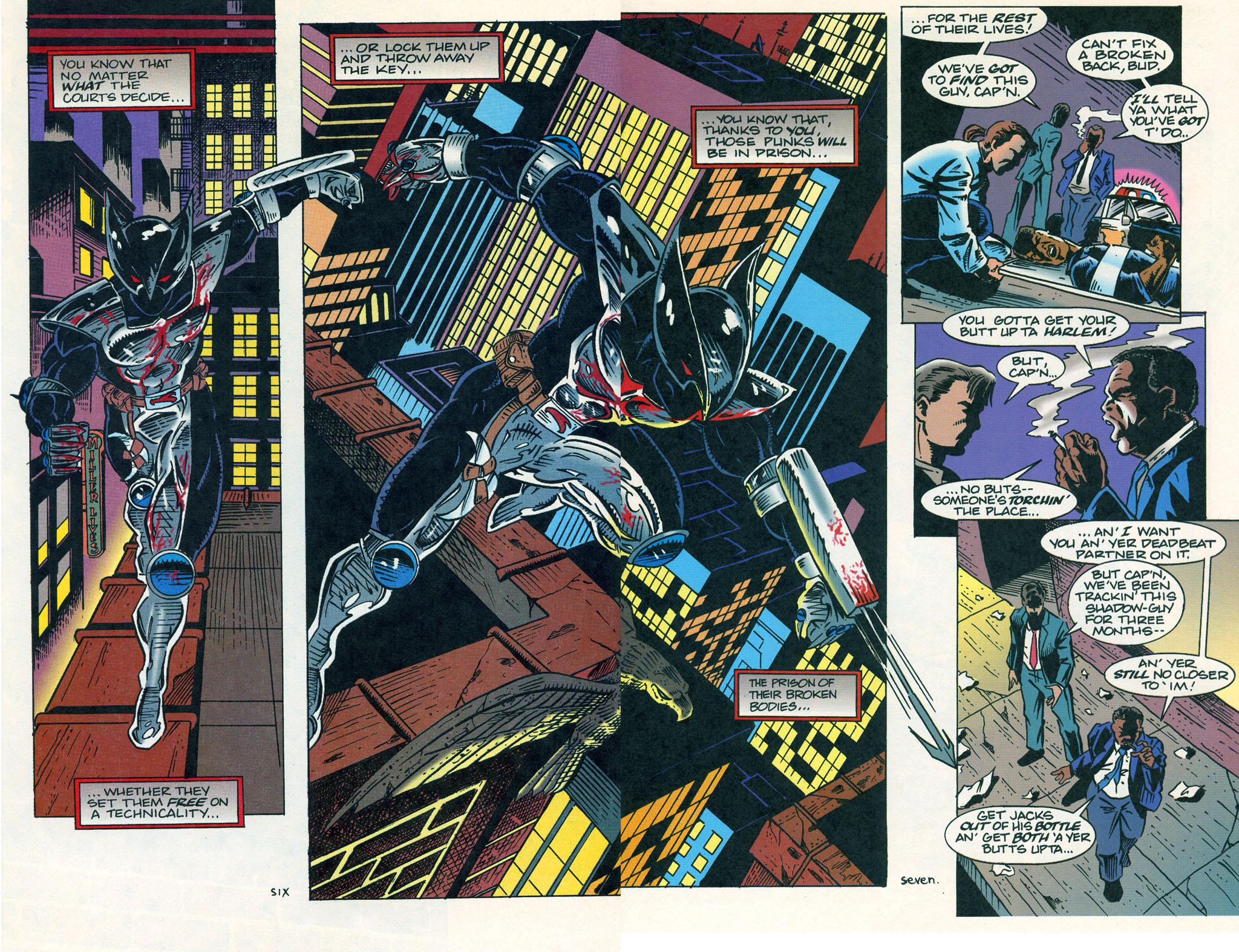 Read online ShadowHawk comic -  Issue #1 - 10