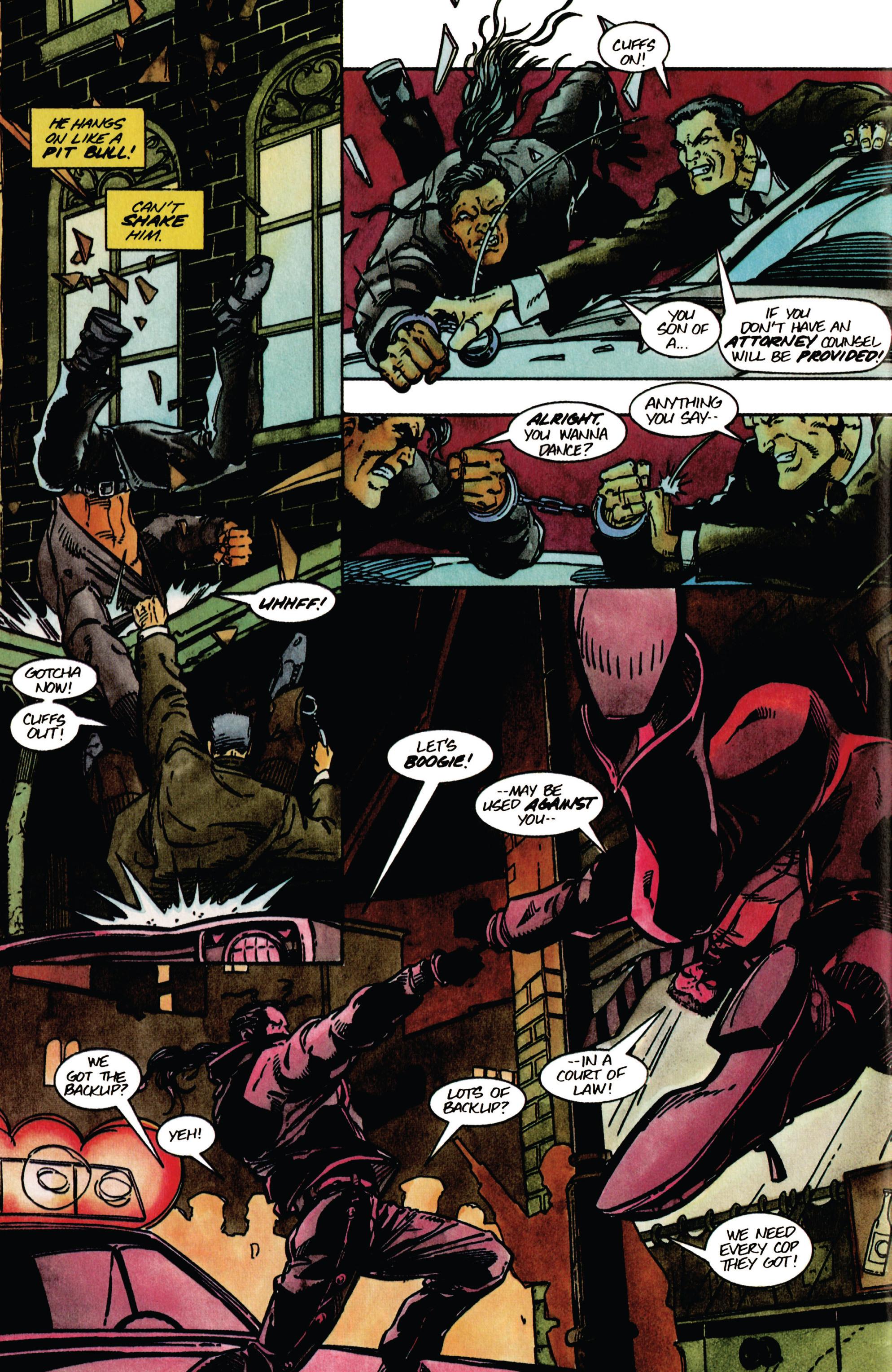 Read online Shadowman (1992) comic -  Issue #41 - 20