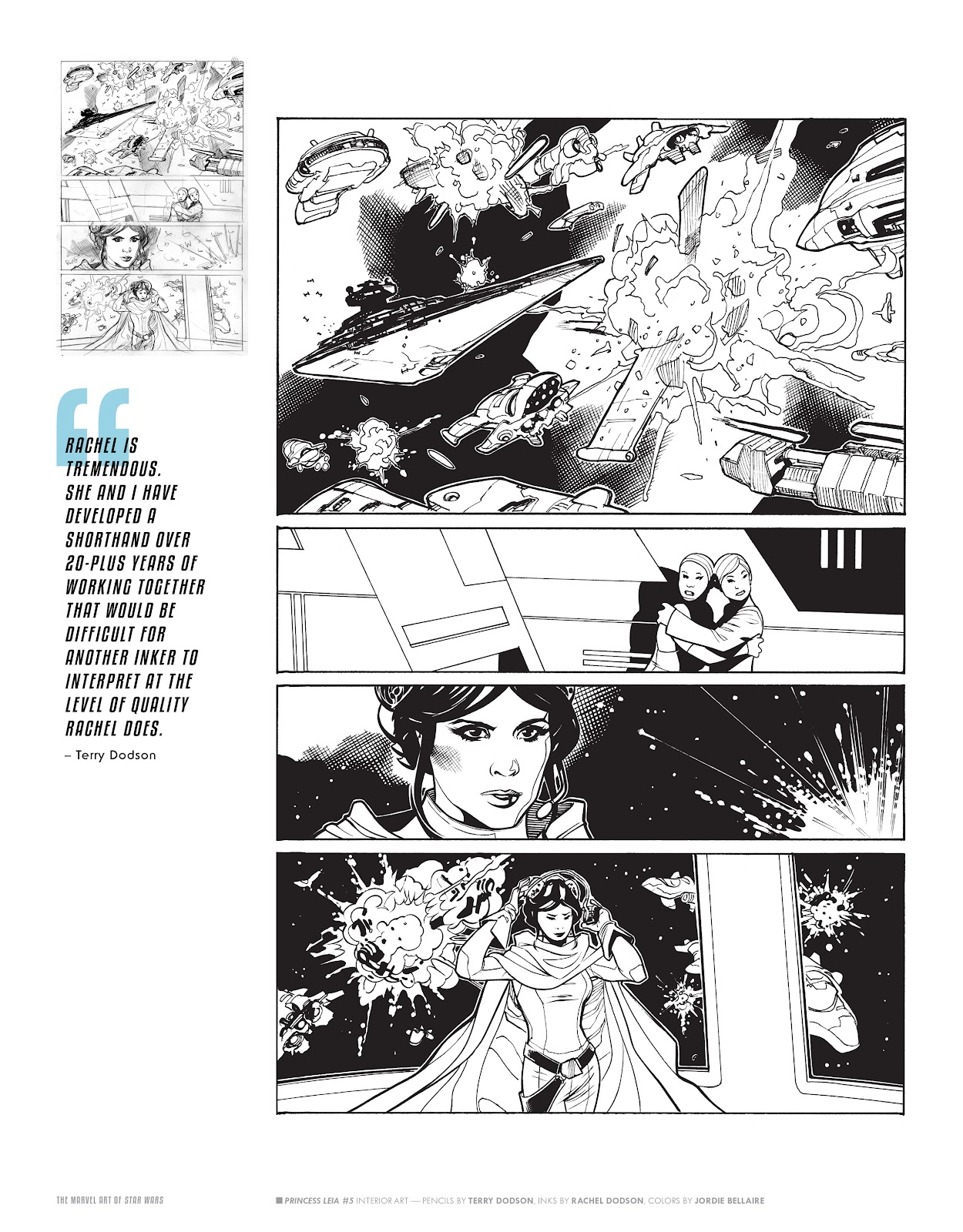 Read online The Marvel Art of Star Wars comic -  Issue # TPB (Part 2) - 34