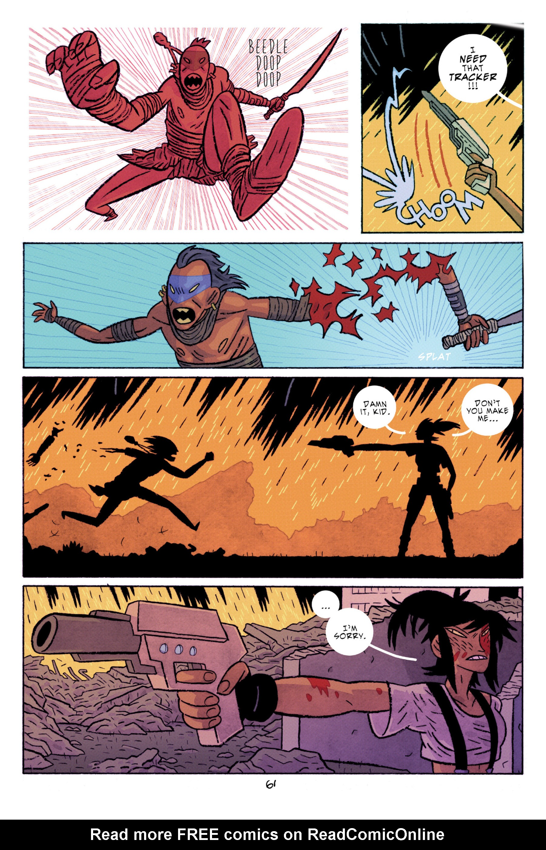 Read online ApocalyptiGirl: An Aria for the End Times comic -  Issue #ApocalyptiGirl: An Aria for the End Times Full - 69