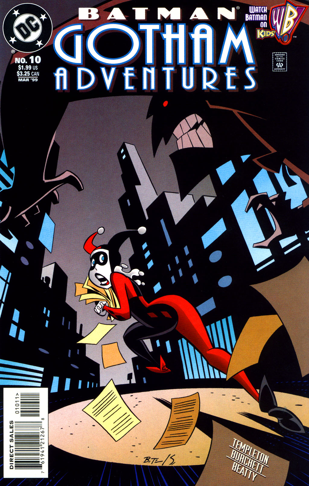 Batman: Gotham Adventures 10 Page 1