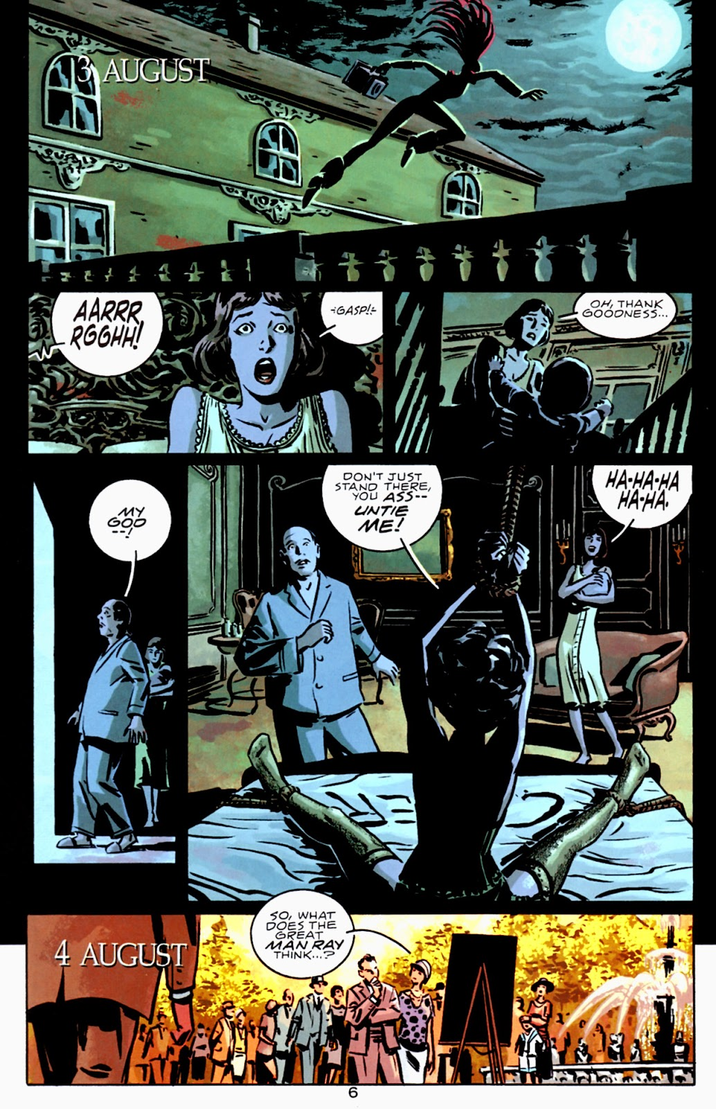 Read online Beware The Creeper (2003) comic -  Issue #3 - 7