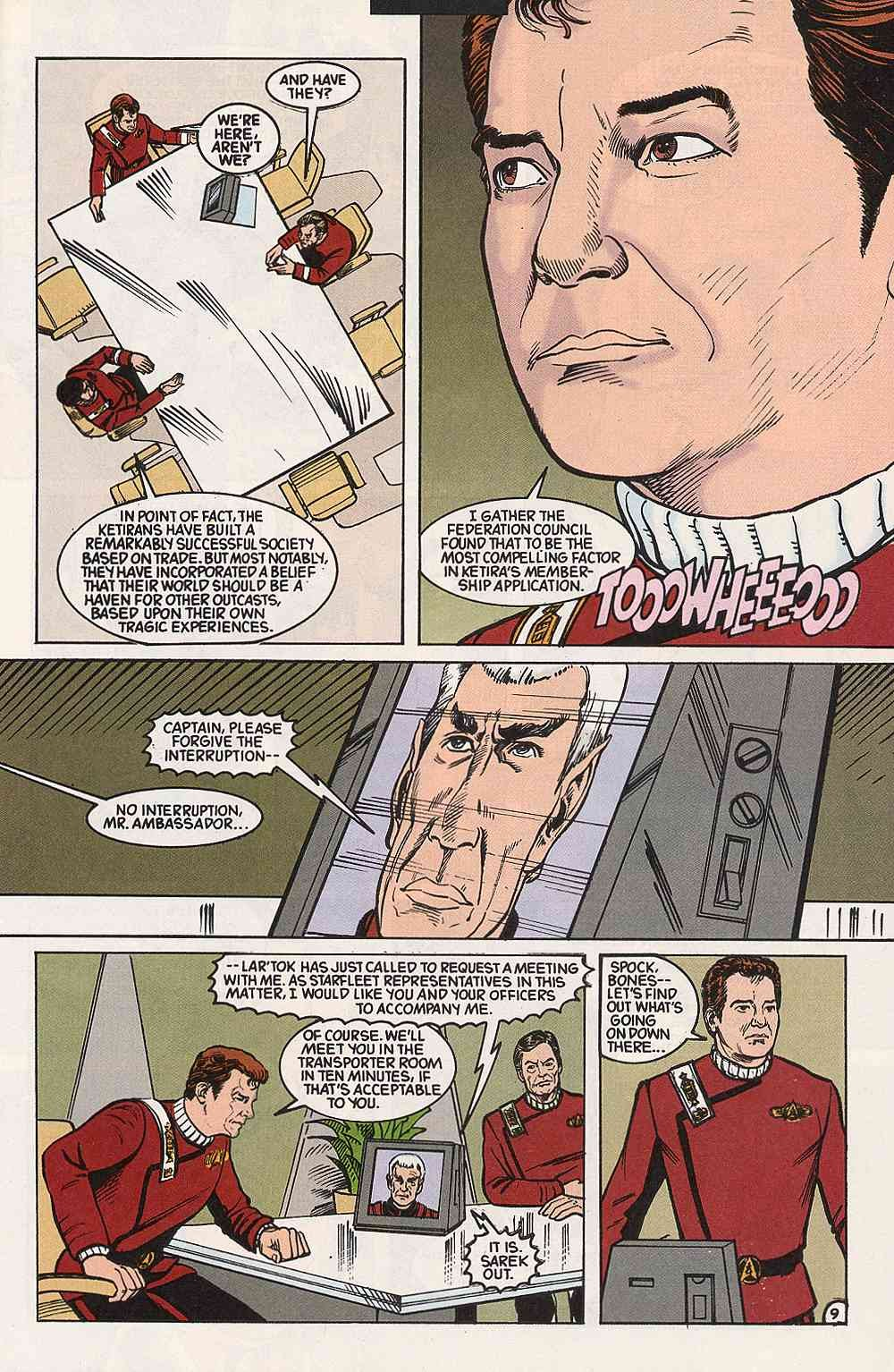 Read online Star Trek (1989) comic -  Issue # Annual 3 - 13
