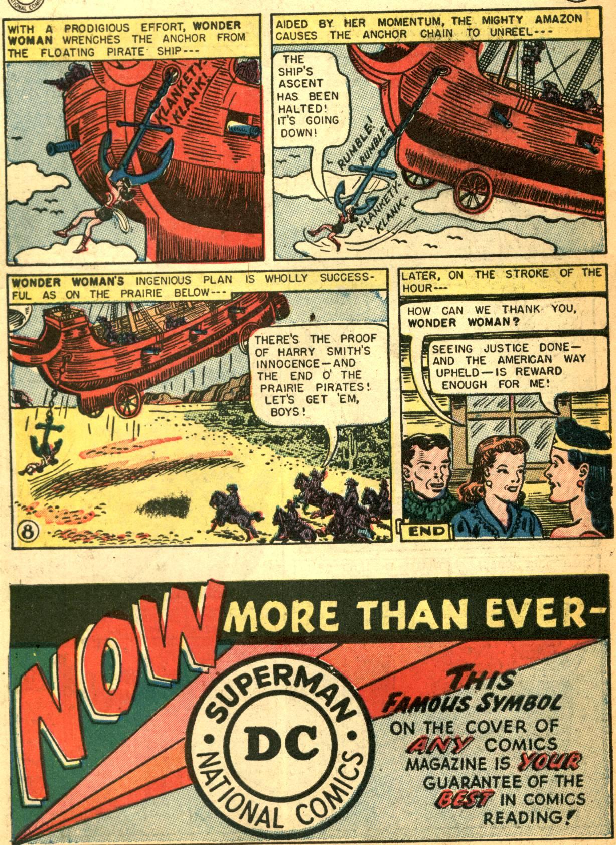 Read online Wonder Woman (1942) comic -  Issue #73 - 10
