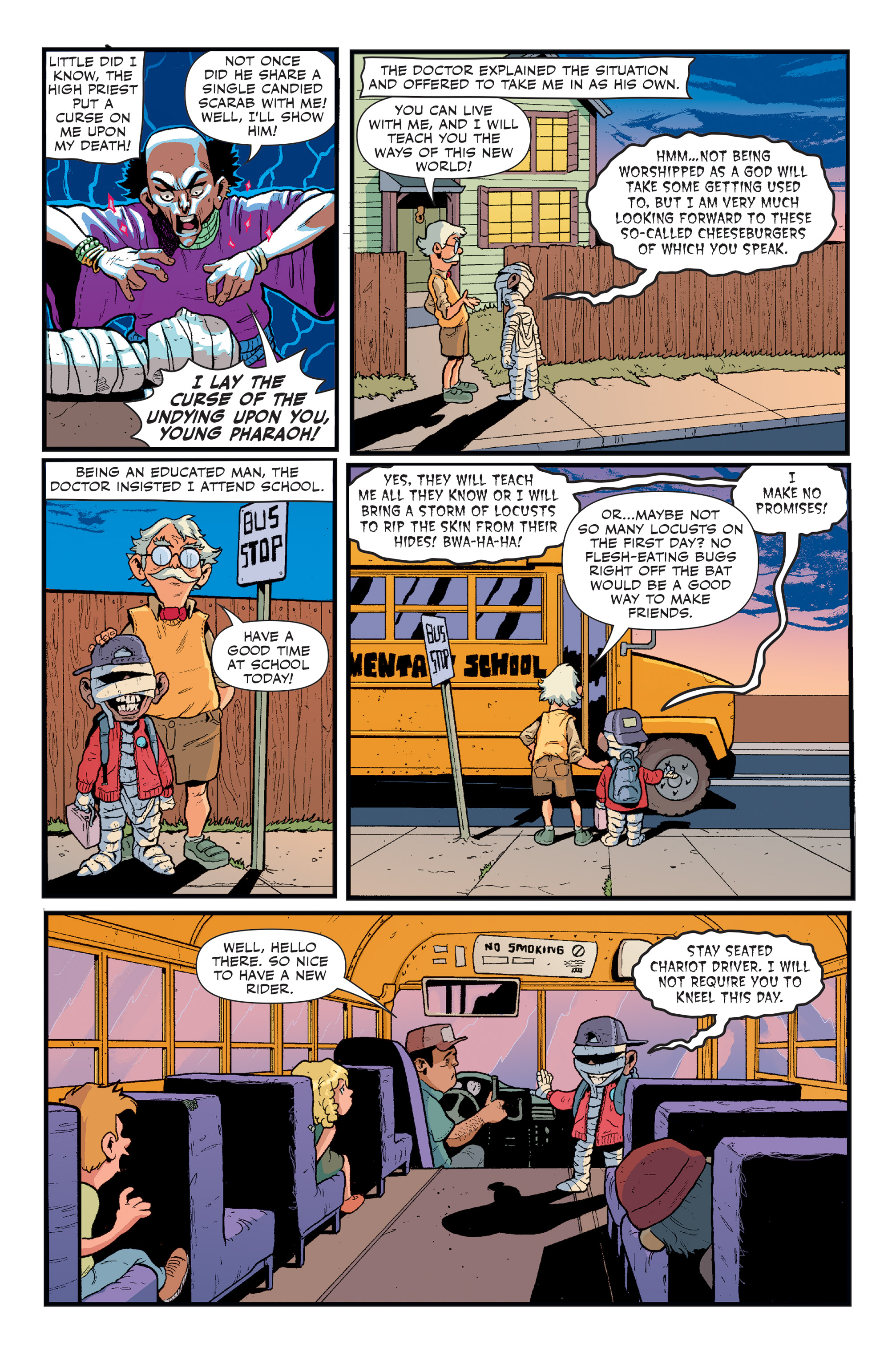 Read online Spook House comic -  Issue #5 - 6
