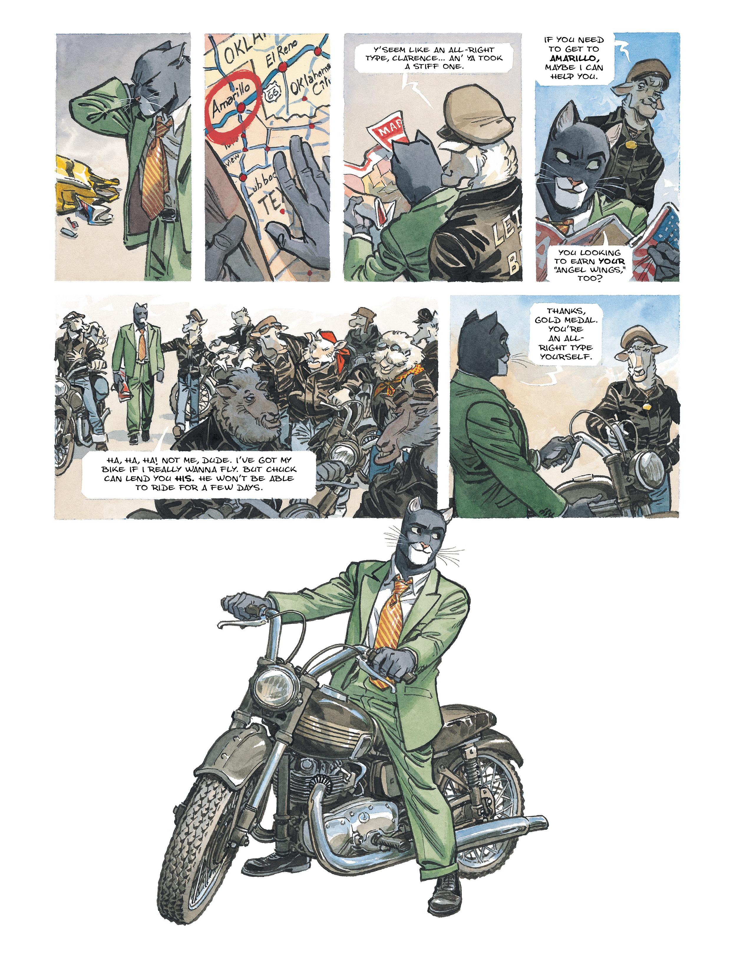 Read online Blacksad: Amarillo comic -  Issue # Full - 19