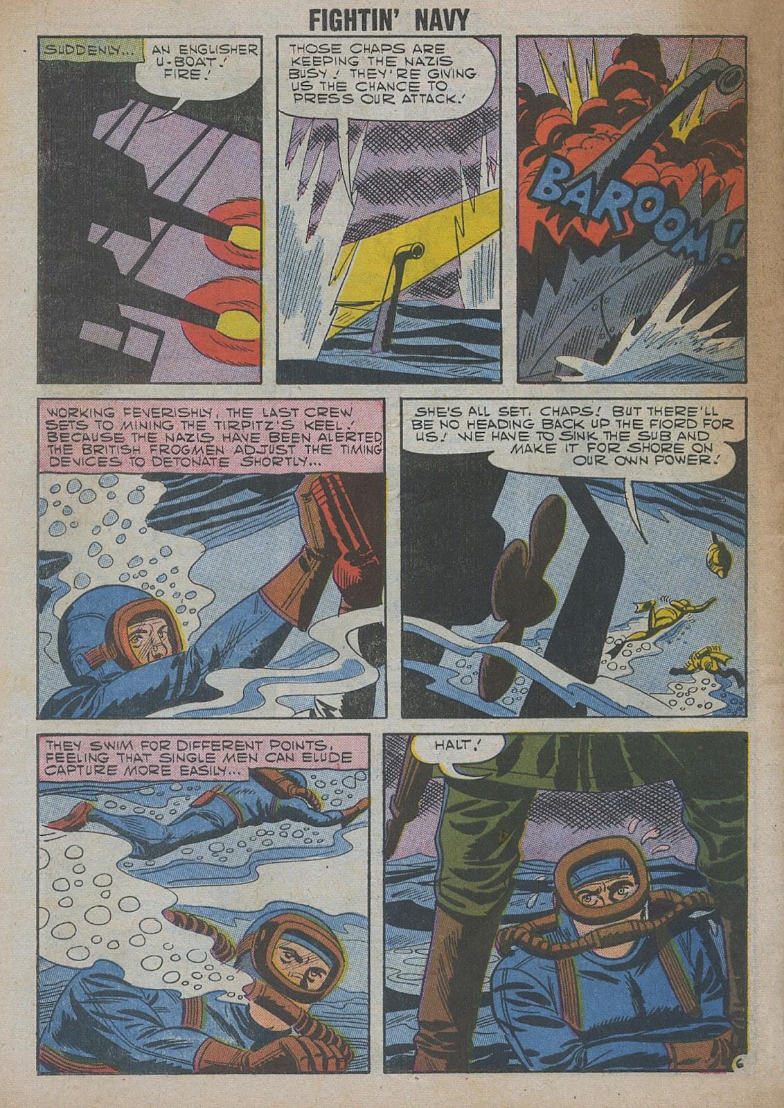 Read online Fightin' Navy comic -  Issue #82 - 64