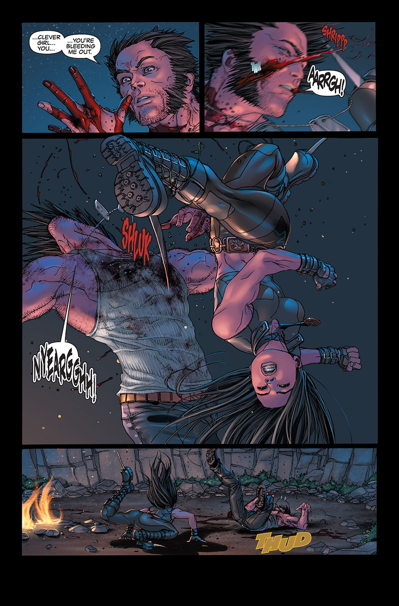Read online X-23: Target X comic -  Issue #6 - 12