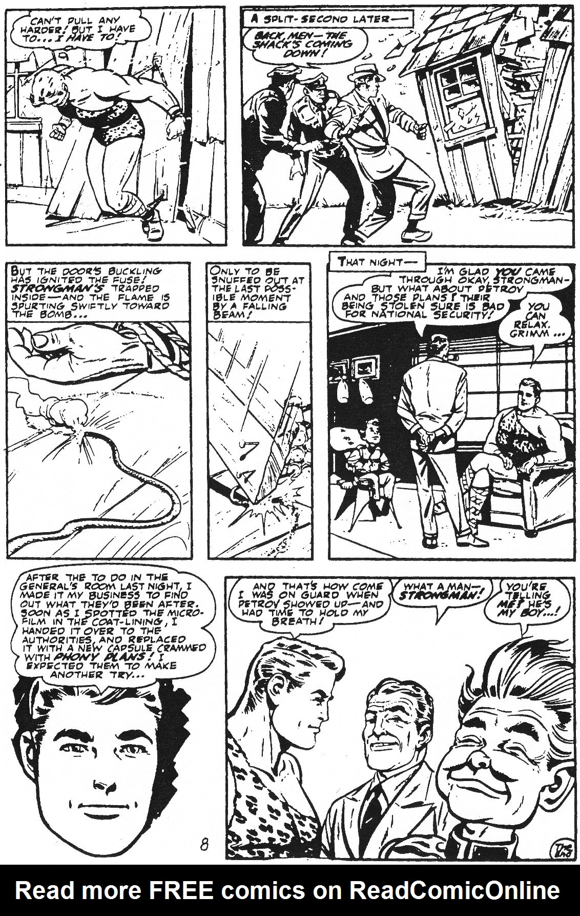 Read online Men of Mystery Comics comic -  Issue #61 - 34