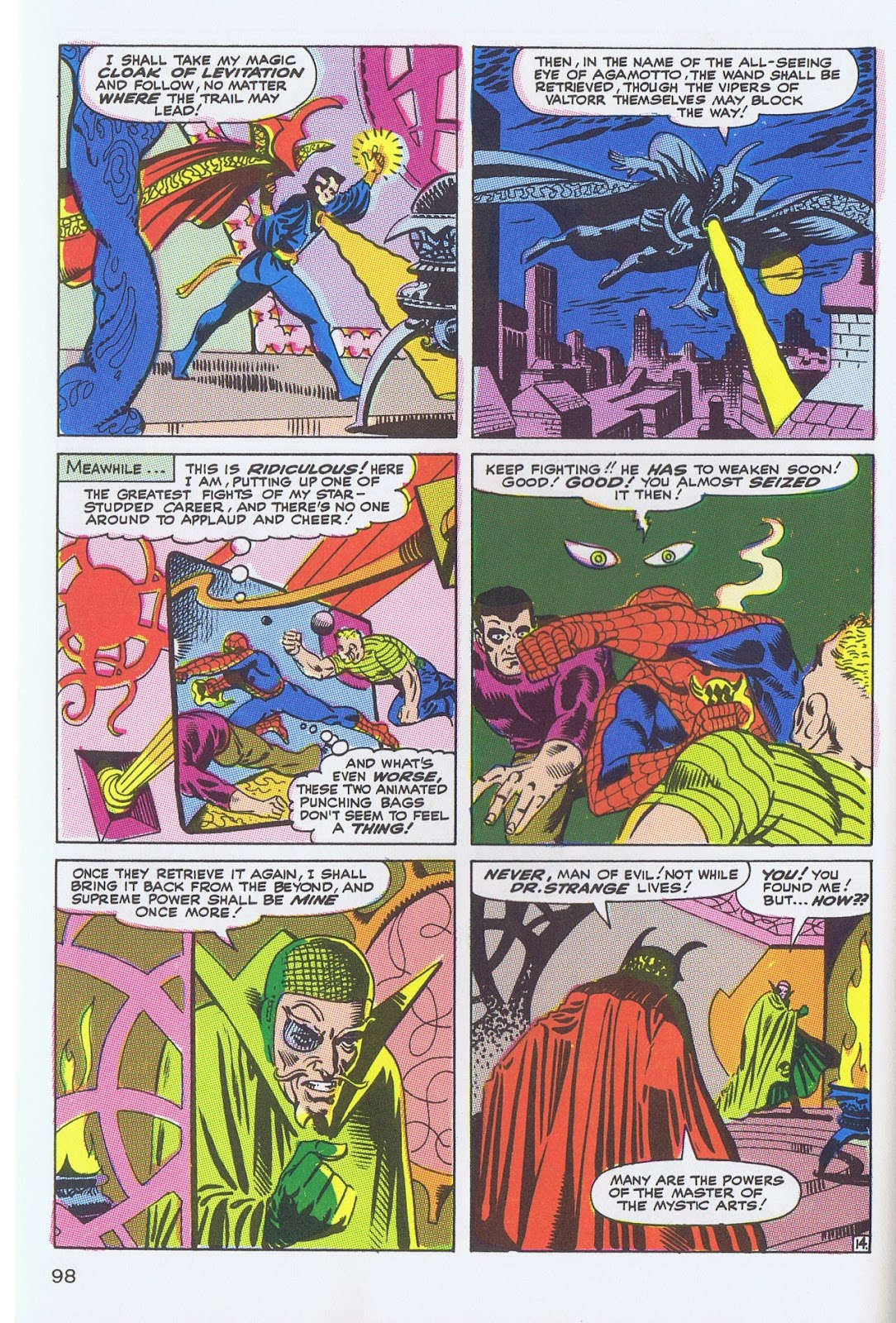 Doctor Strange: Master of the Mystic Arts issue TPB - Page 93