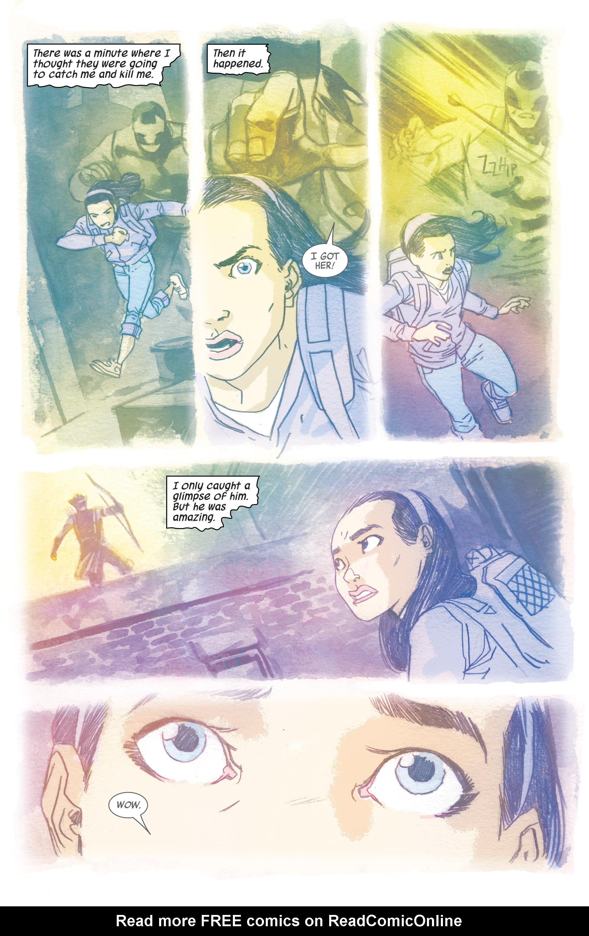 Read online All-New Hawkeye (2016) comic -  Issue #6 - 8