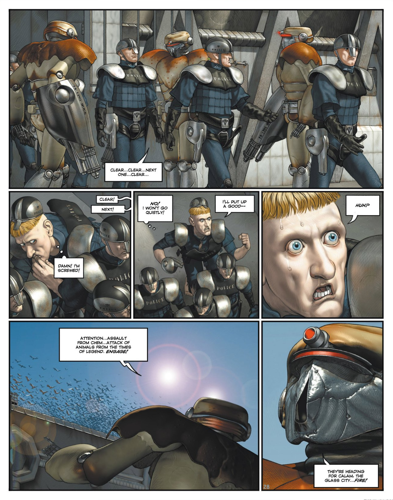 Read online Megalex (2014) comic -  Issue #1 - 33