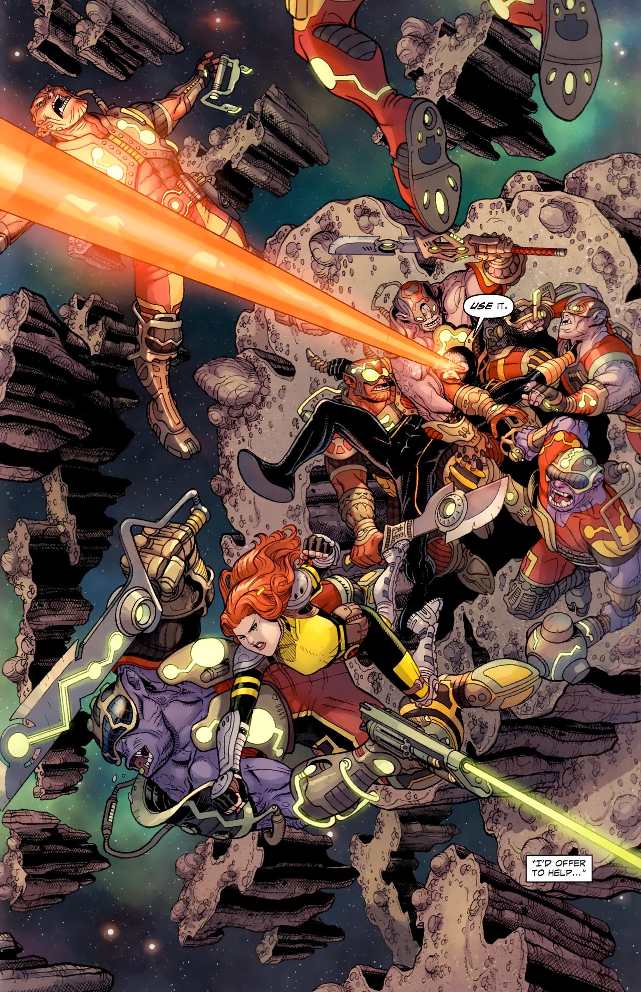 Read online Uncanny X-Men (1963) comic -  Issue # _Annual 3 (2011) - 21