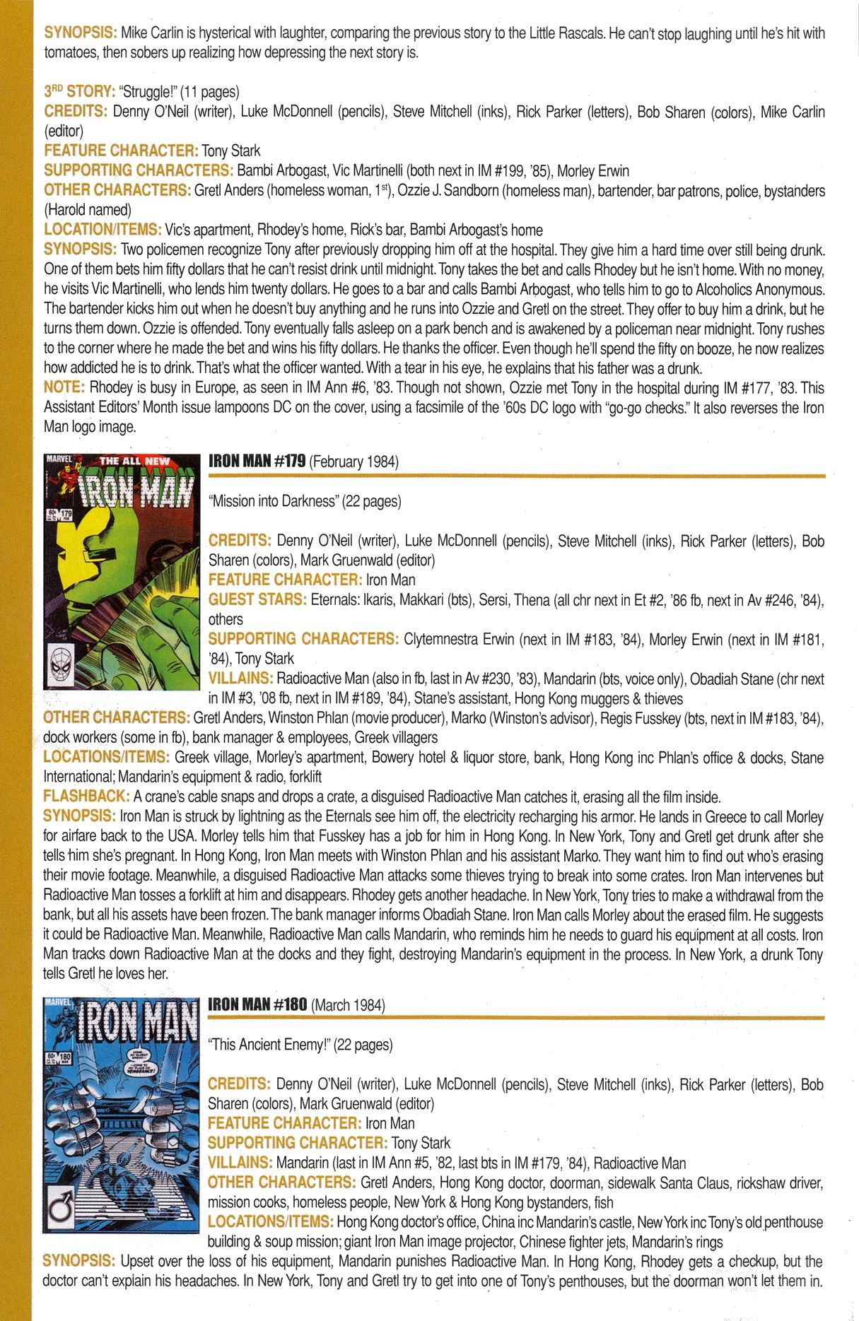 Read online Official Index to the Marvel Universe comic -  Issue #6 - 28