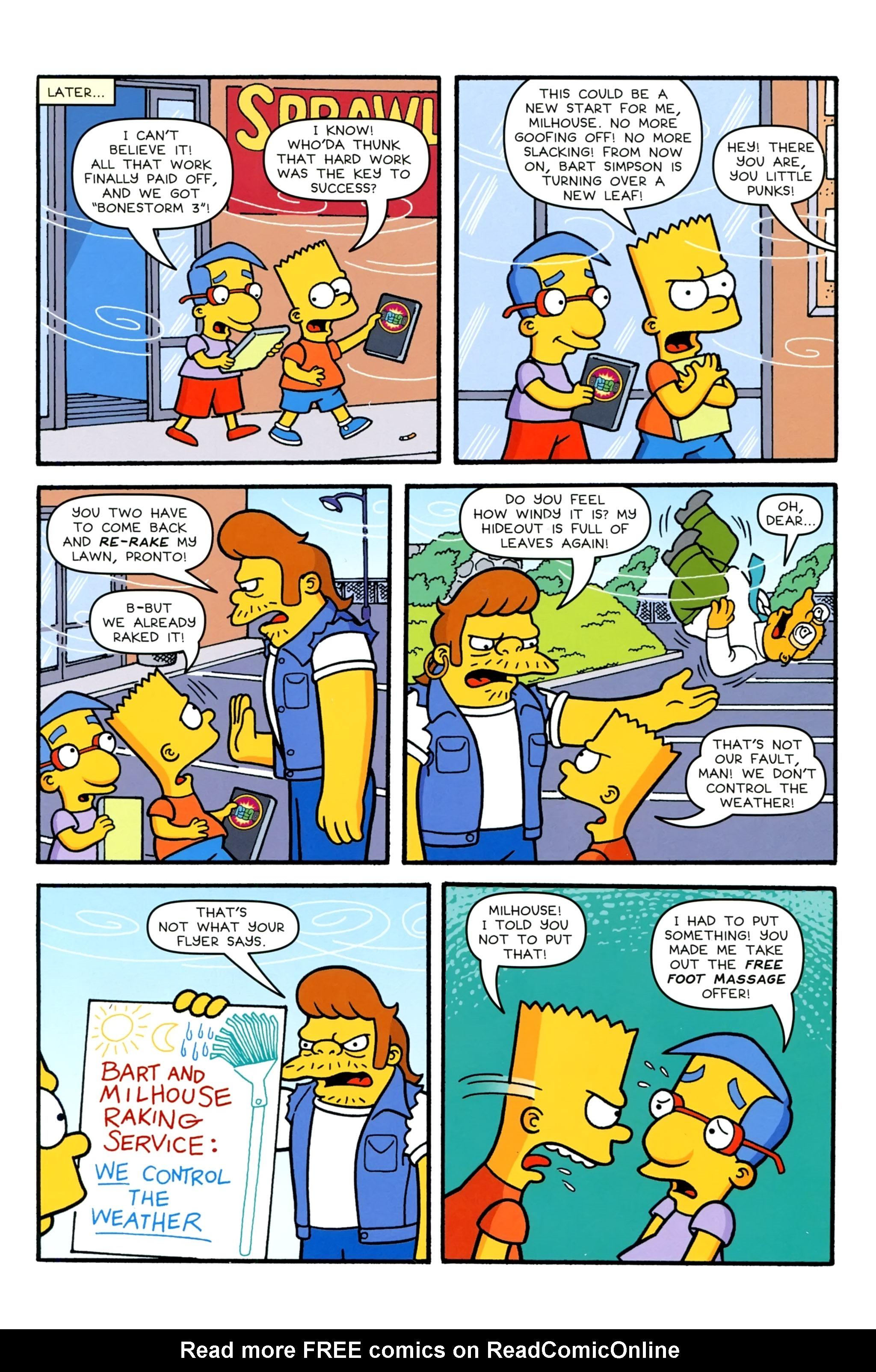 Read online Simpsons Comics comic -  Issue #231 - 7