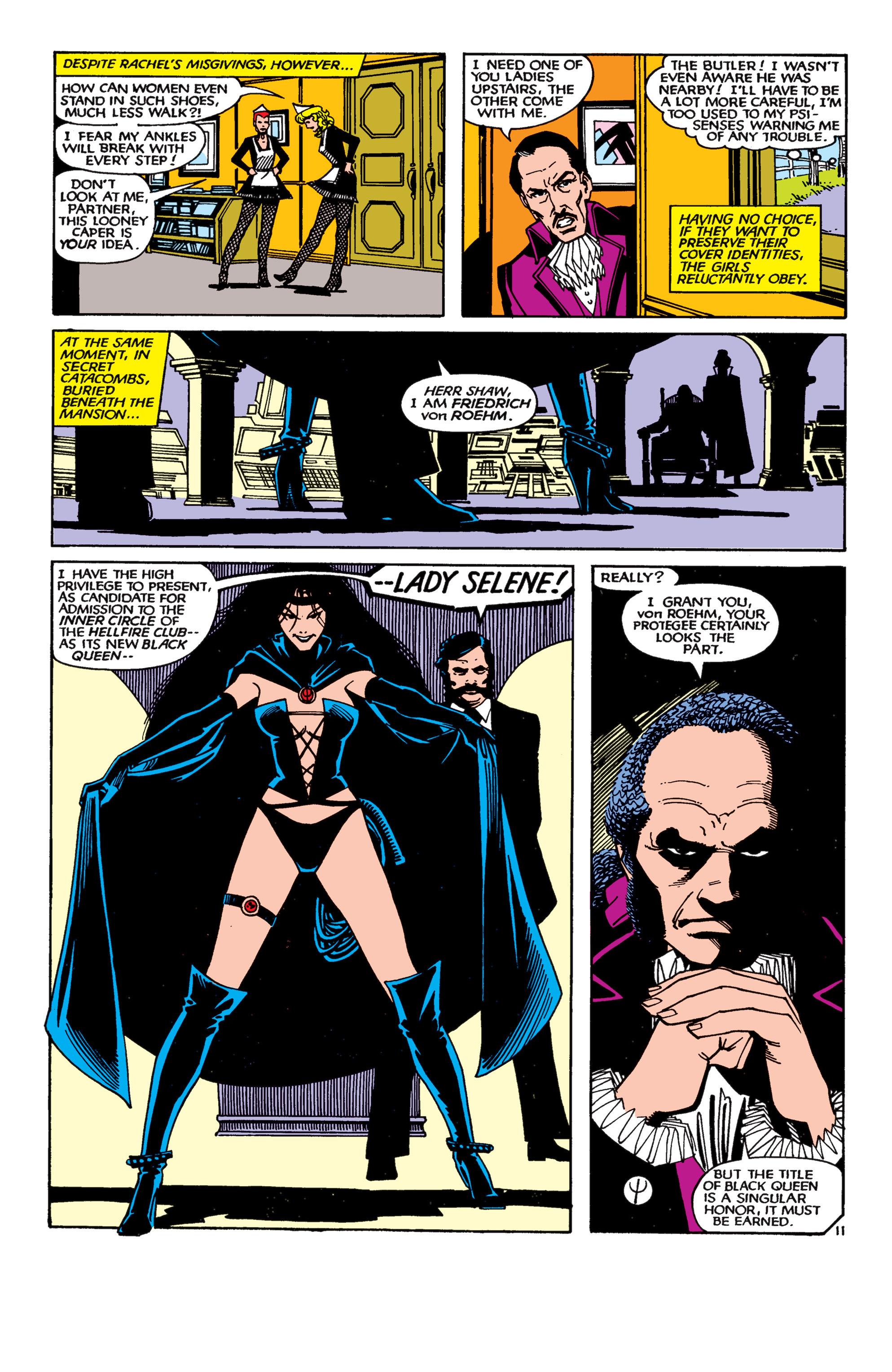 Read online Uncanny X-Men (1963) comic -  Issue #189 - 11
